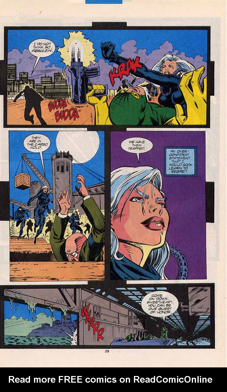 Read online Silver Sable and the Wild Pack comic -  Issue #11 - 22