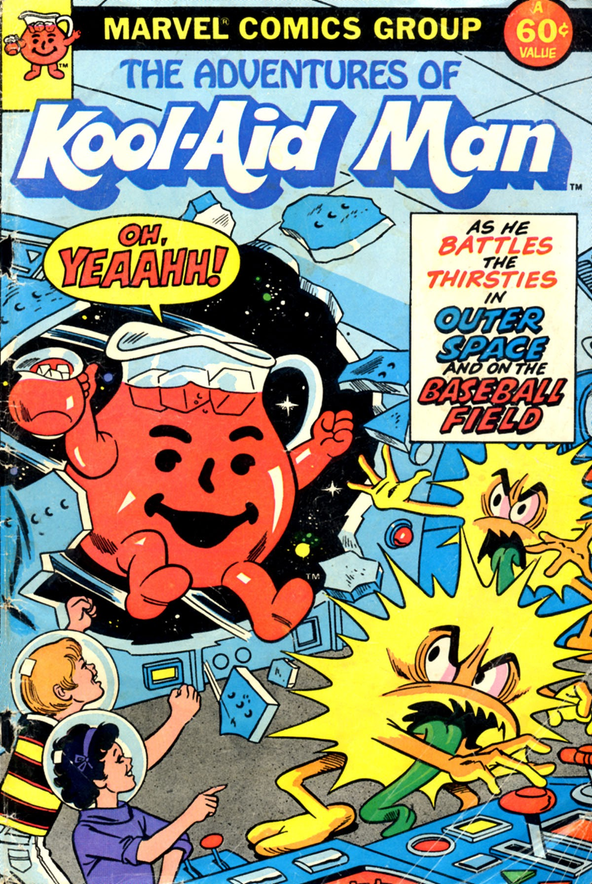 The Adventures of Kool-Aid Man 1 Page 1