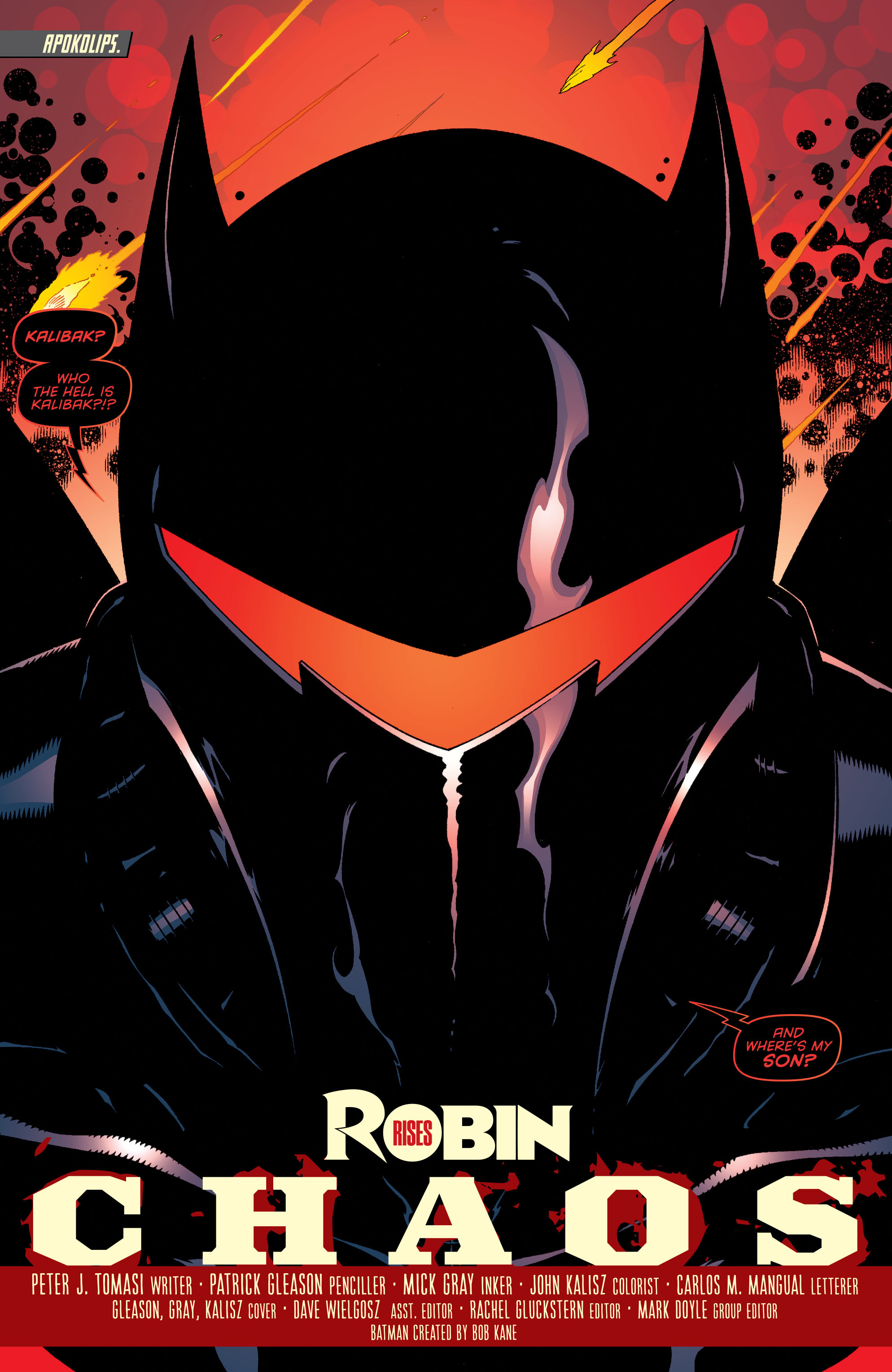 Read online Batman and Robin (2011) comic -  Issue #36 - 2