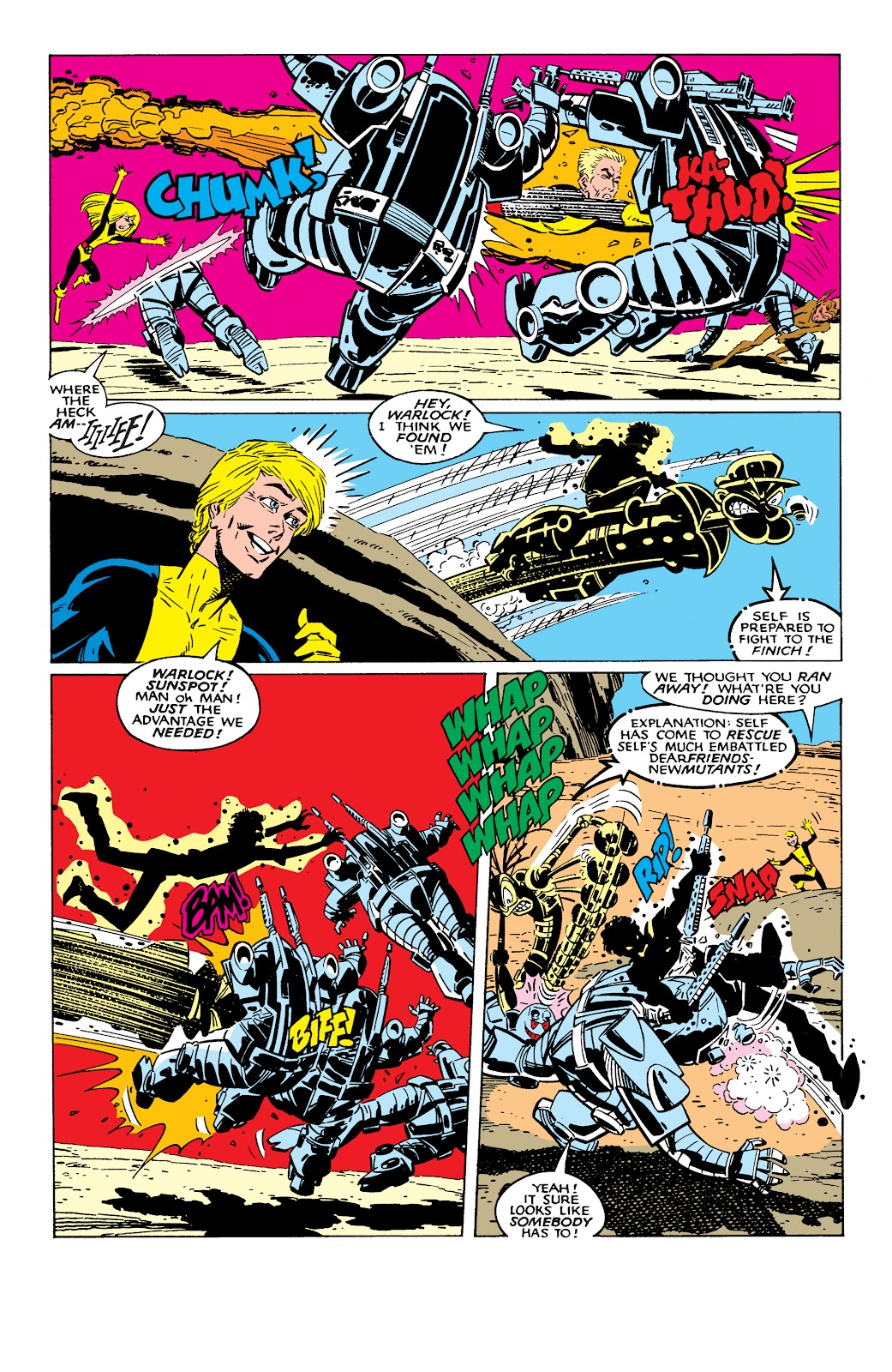 Read online X-Men Milestones: Fall of the Mutants comic -  Issue # TPB (Part 2) - 46