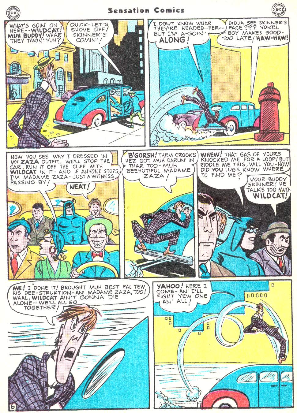 Read online Sensation (Mystery) Comics comic -  Issue #50 - 46