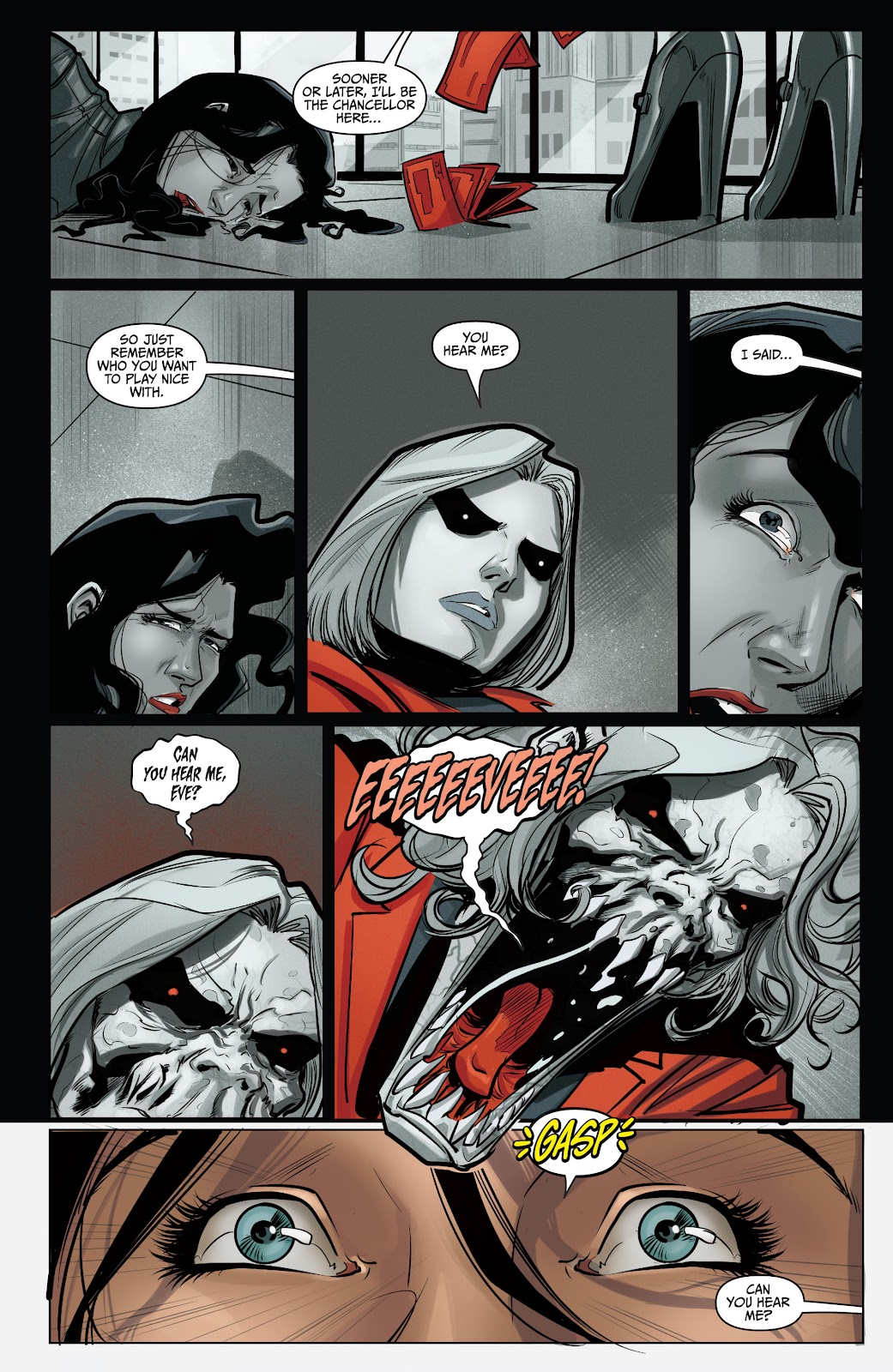 The Courier: Liberty & Death issue 2 - Page 13
