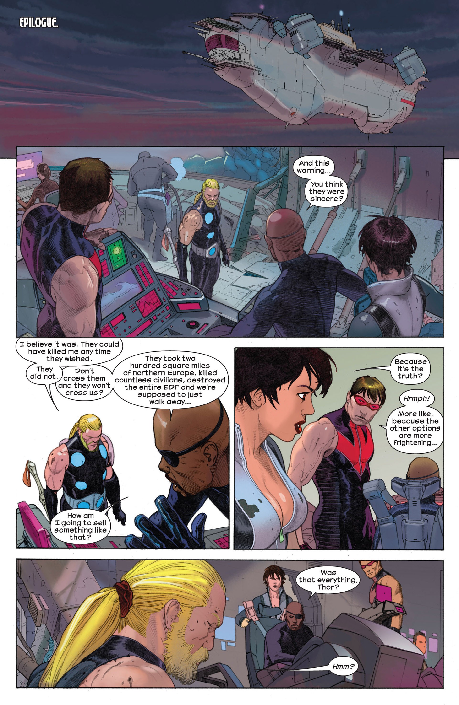 Read online Ultimate Comics Ultimates comic -  Issue #4 - 20