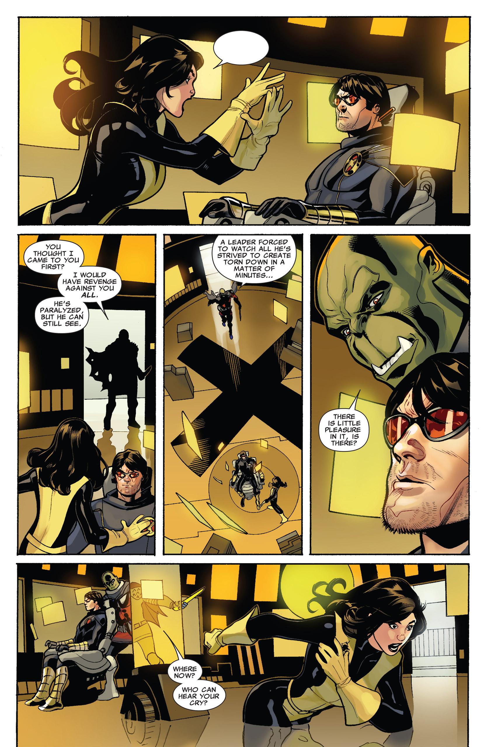 Read online Uncanny X-Men (1963) comic -  Issue #537 - 16