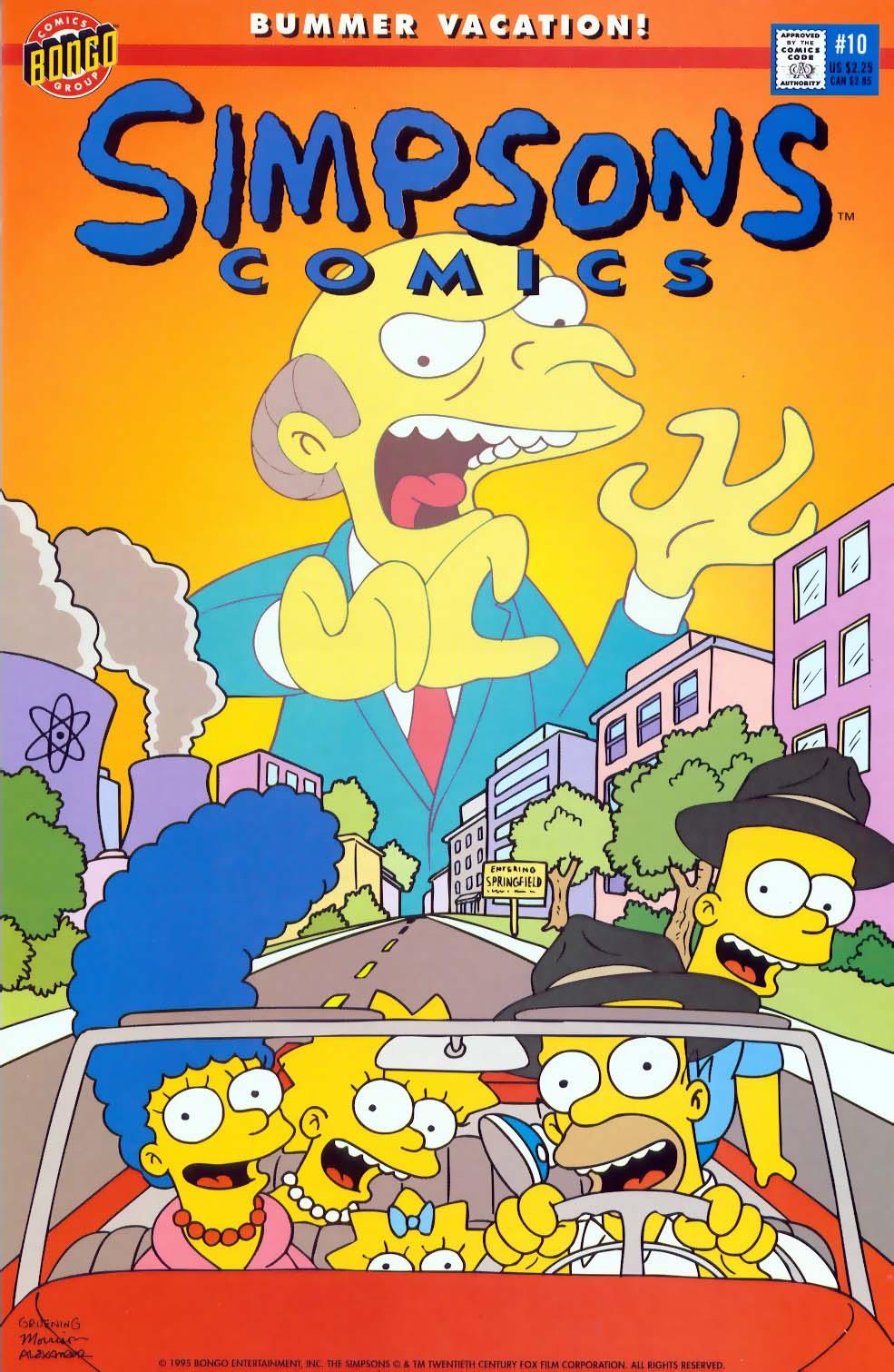Read online Simpsons Comics comic -  Issue #10 - 1
