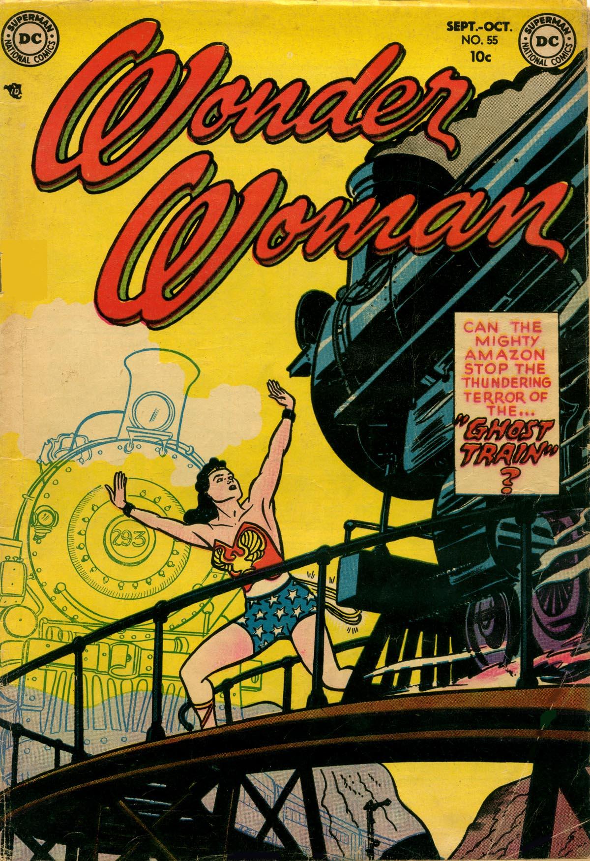 Read online Wonder Woman (1942) comic -  Issue #55 - 1