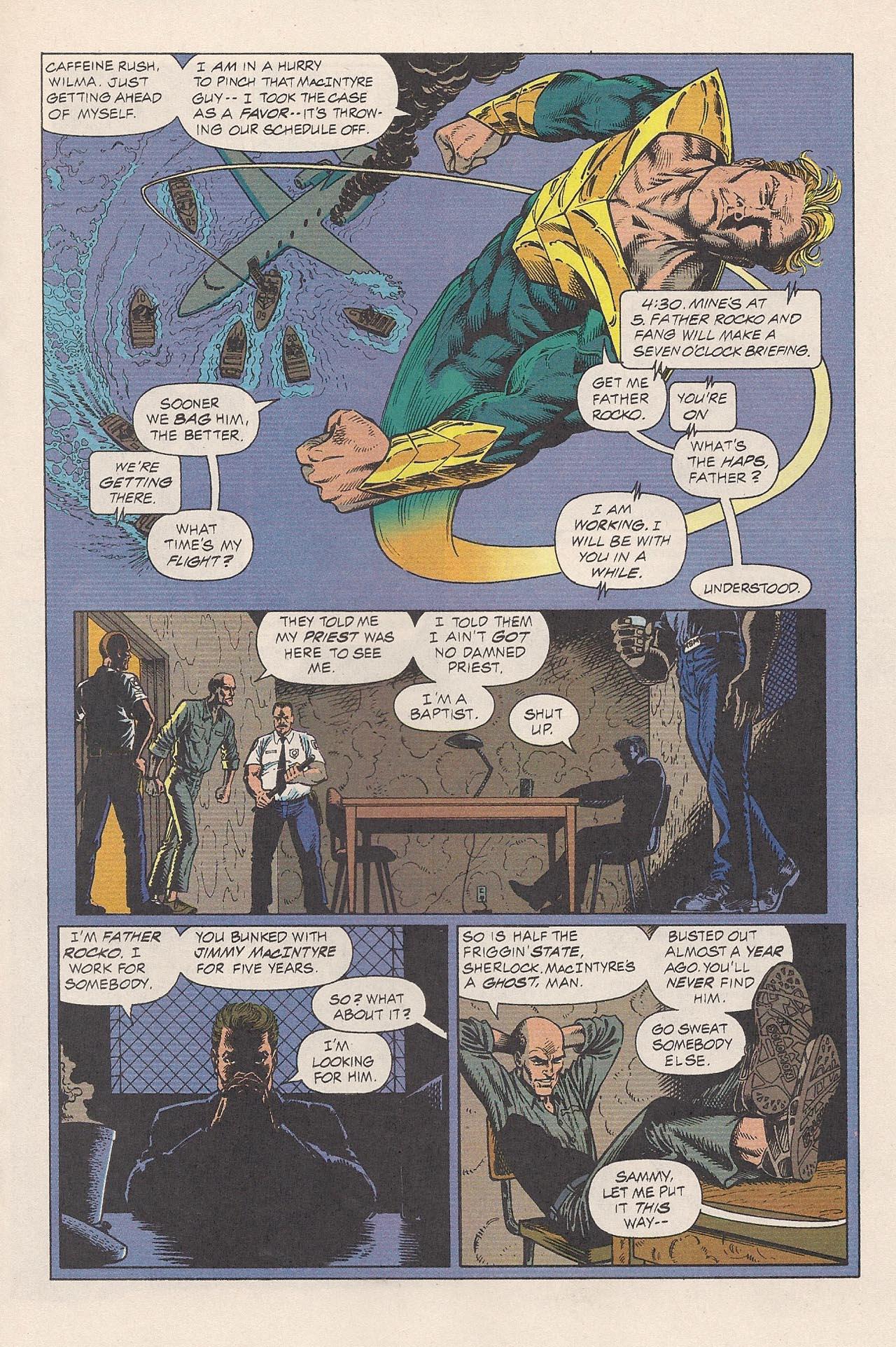 Read online Triumph comic -  Issue #2 - 17