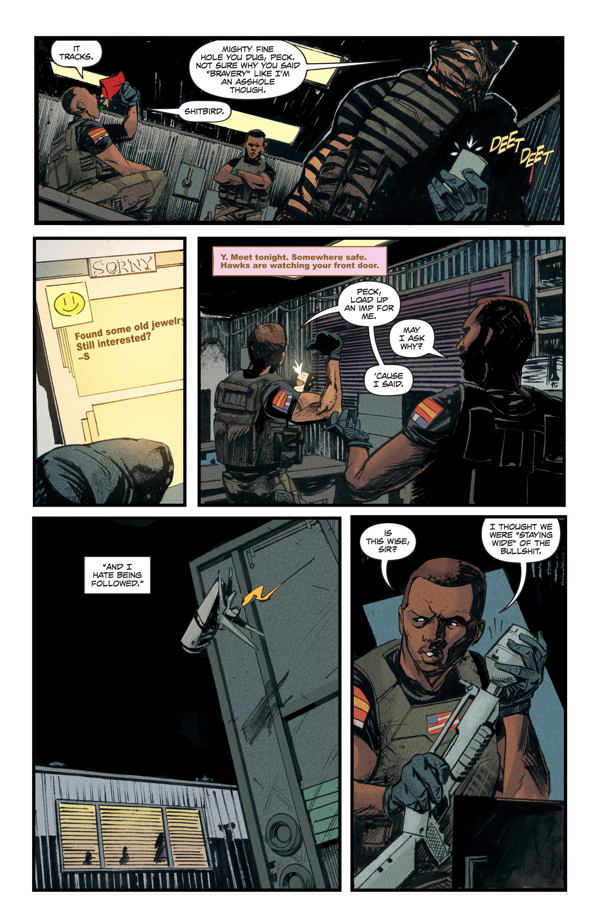 Read online Redline comic -  Issue #3 - 17