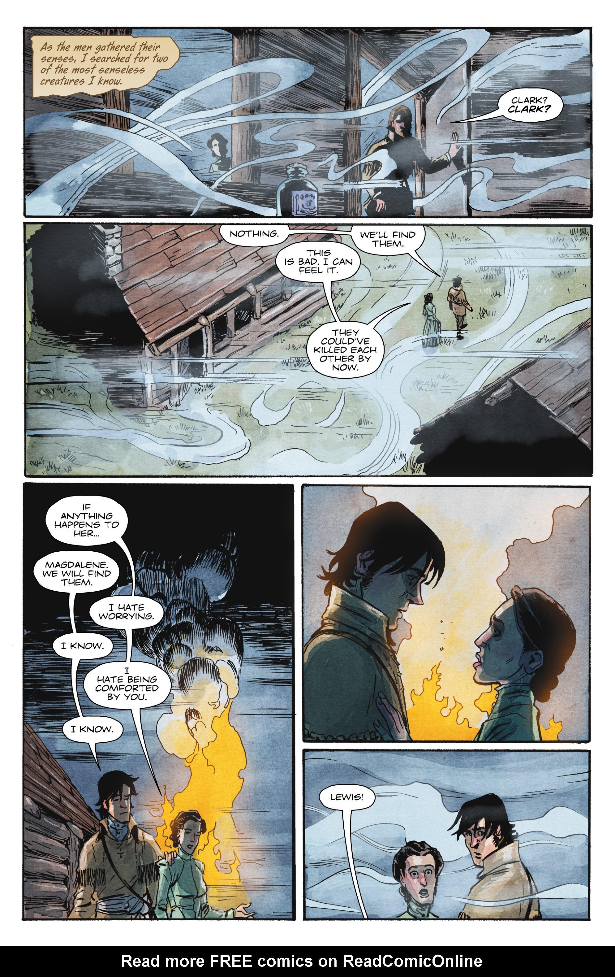 Read online Manifest Destiny comic -  Issue #29 - 16