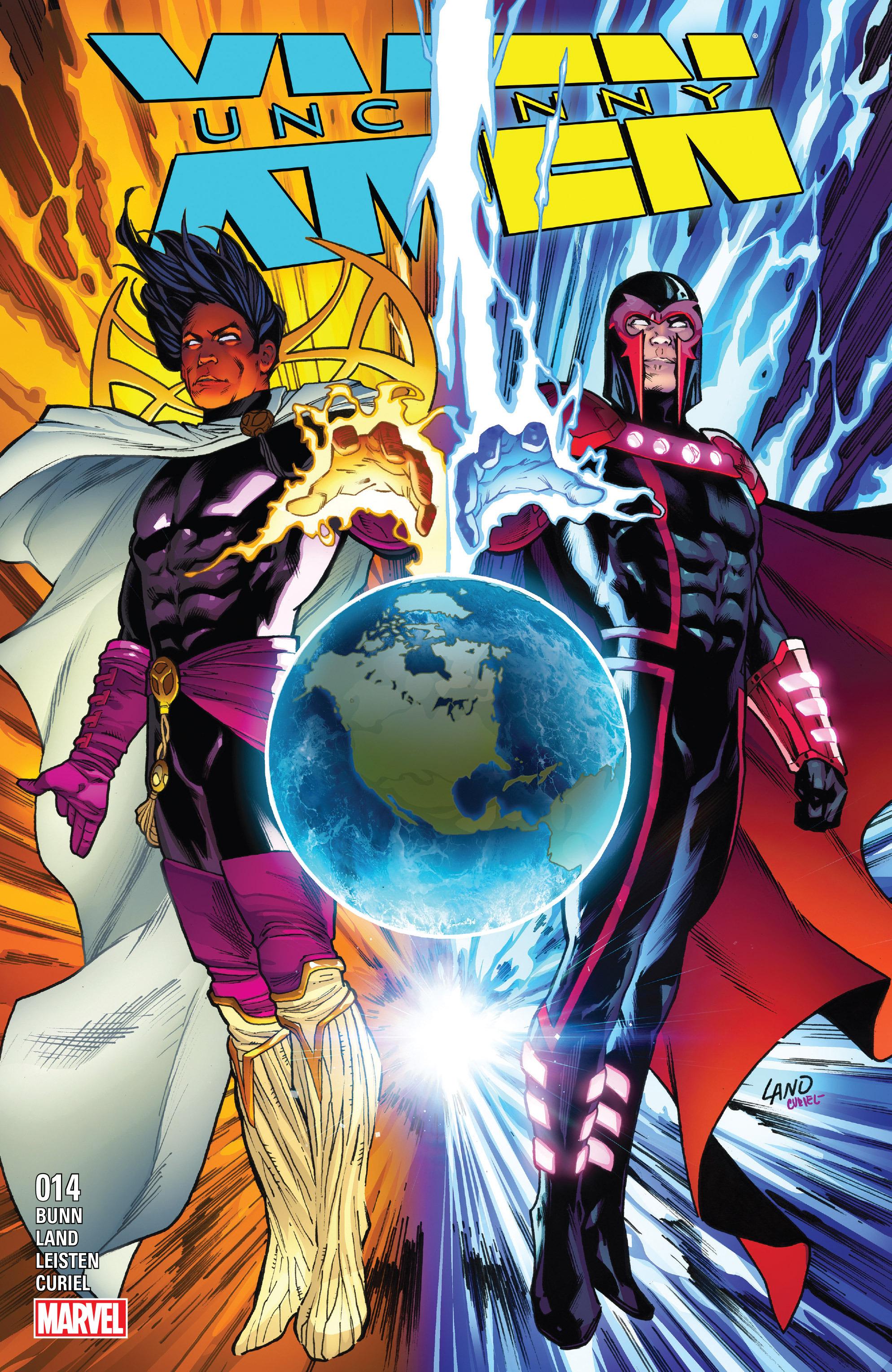 Read online Uncanny X-Men (2016) comic -  Issue #14 - 1