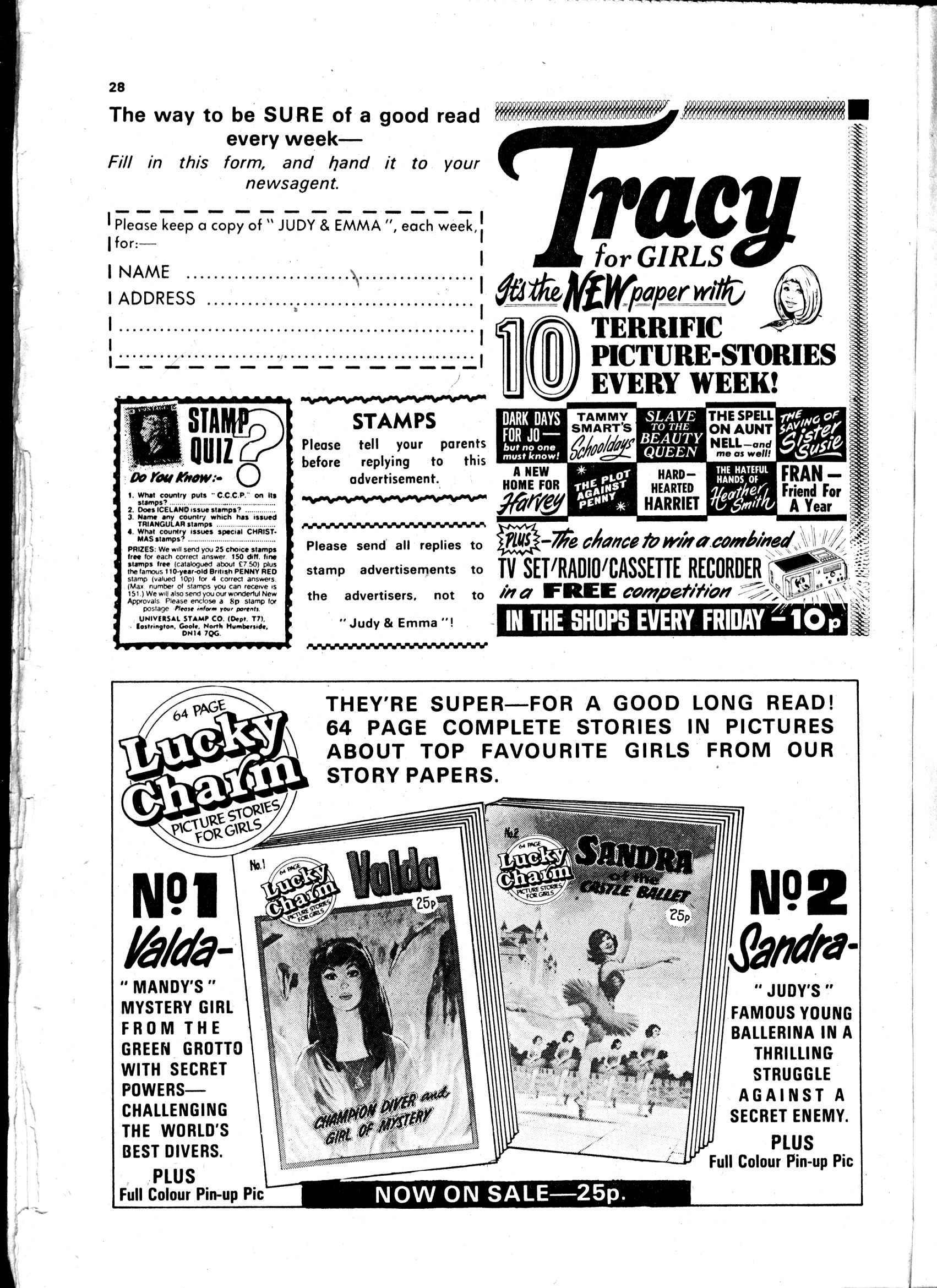 Read online Judy comic -  Issue #1032 - 28