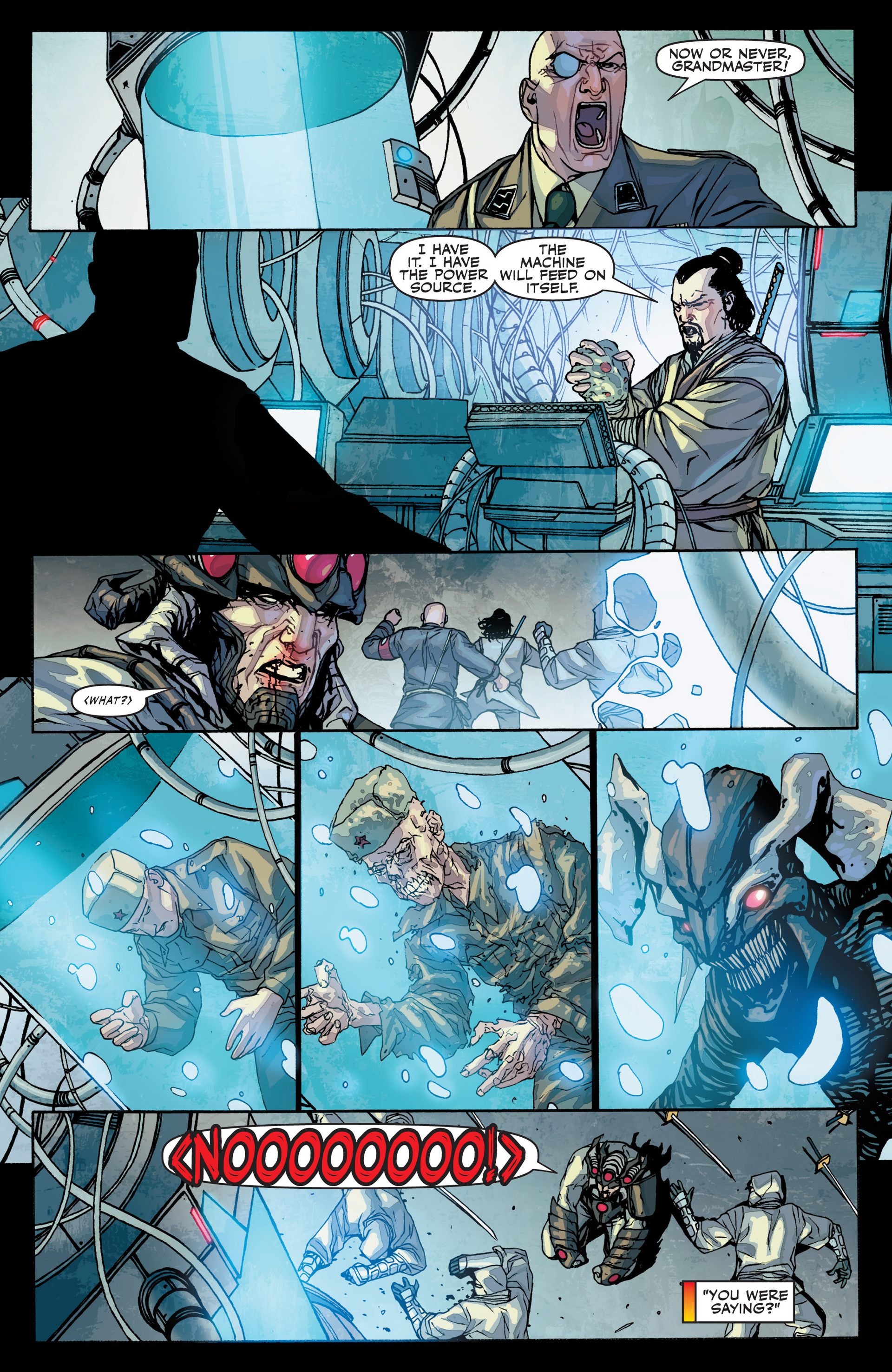 Read online Secret Warriors comic -  Issue #25 - 30
