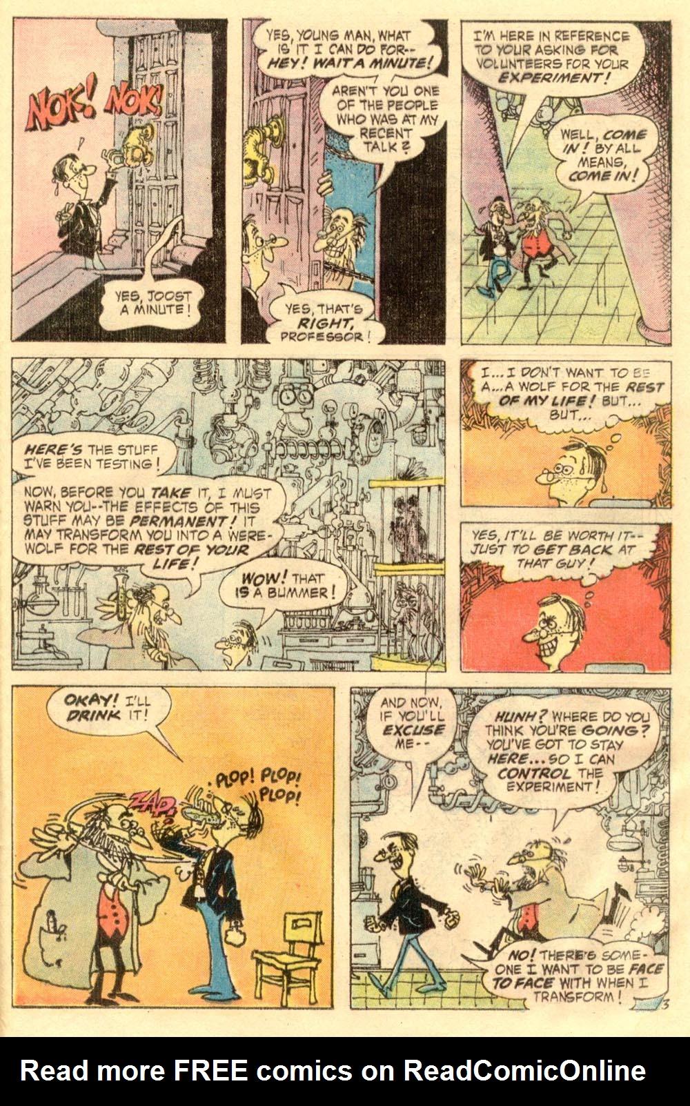 Read online Plop! comic -  Issue #2 - 25