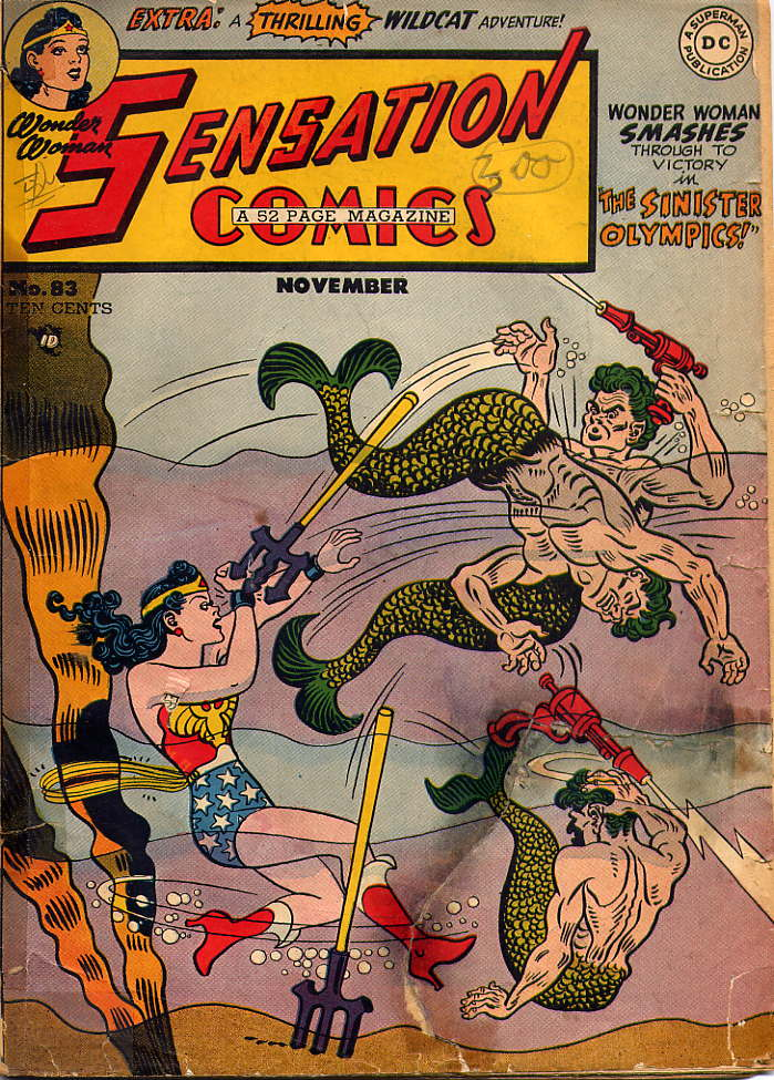 Read online Sensation (Mystery) Comics comic -  Issue #83 - 1
