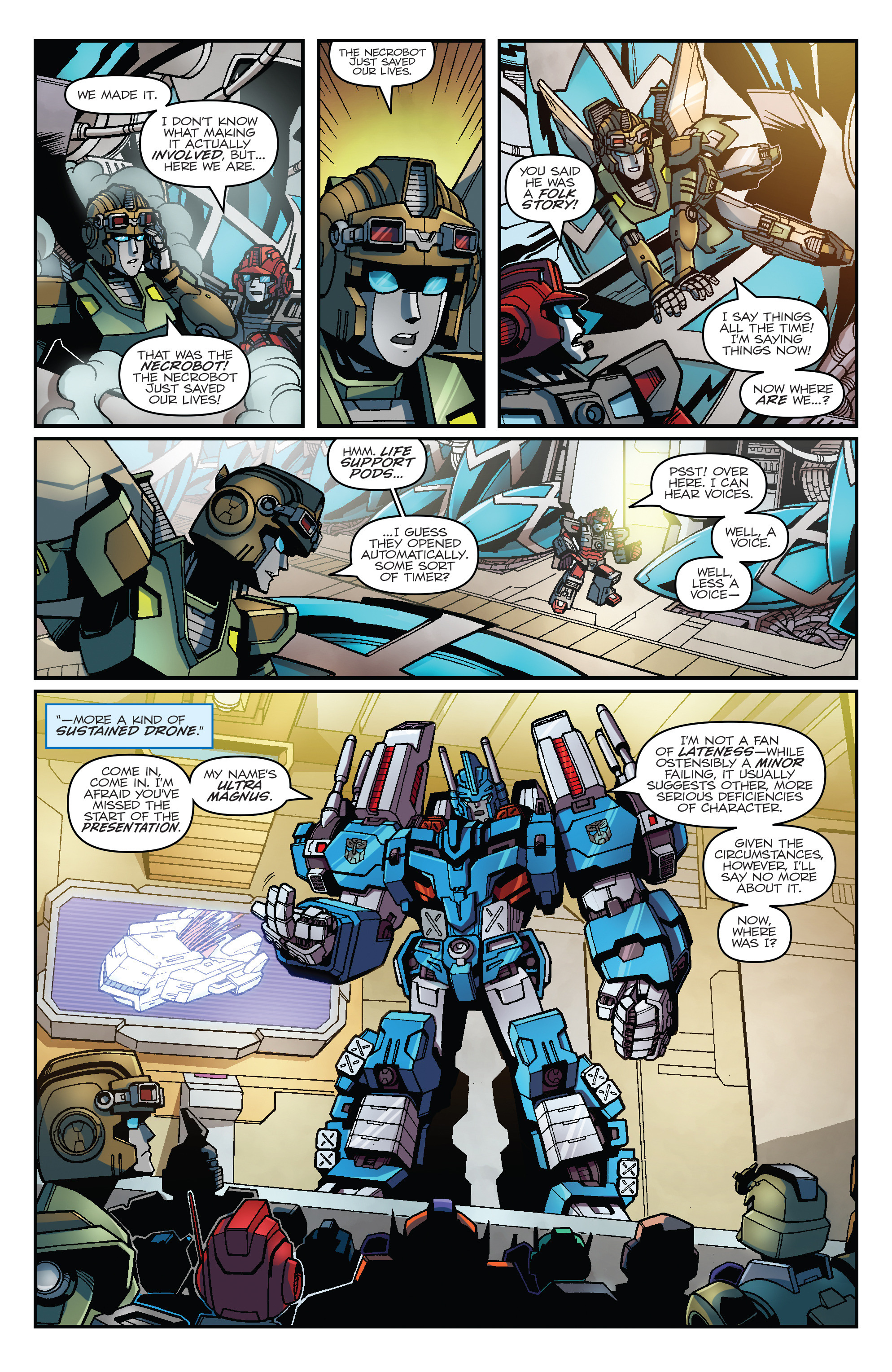 Read online Transformers: Lost Light comic -  Issue #1 - 8