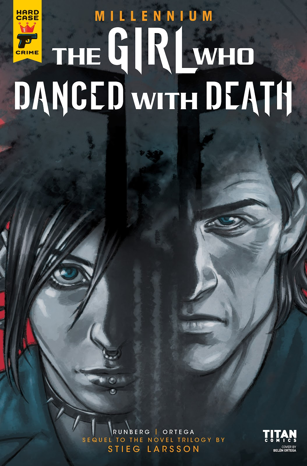 Read online Millennium: The Girl Who Danced With Death comic -  Issue #2 - 2