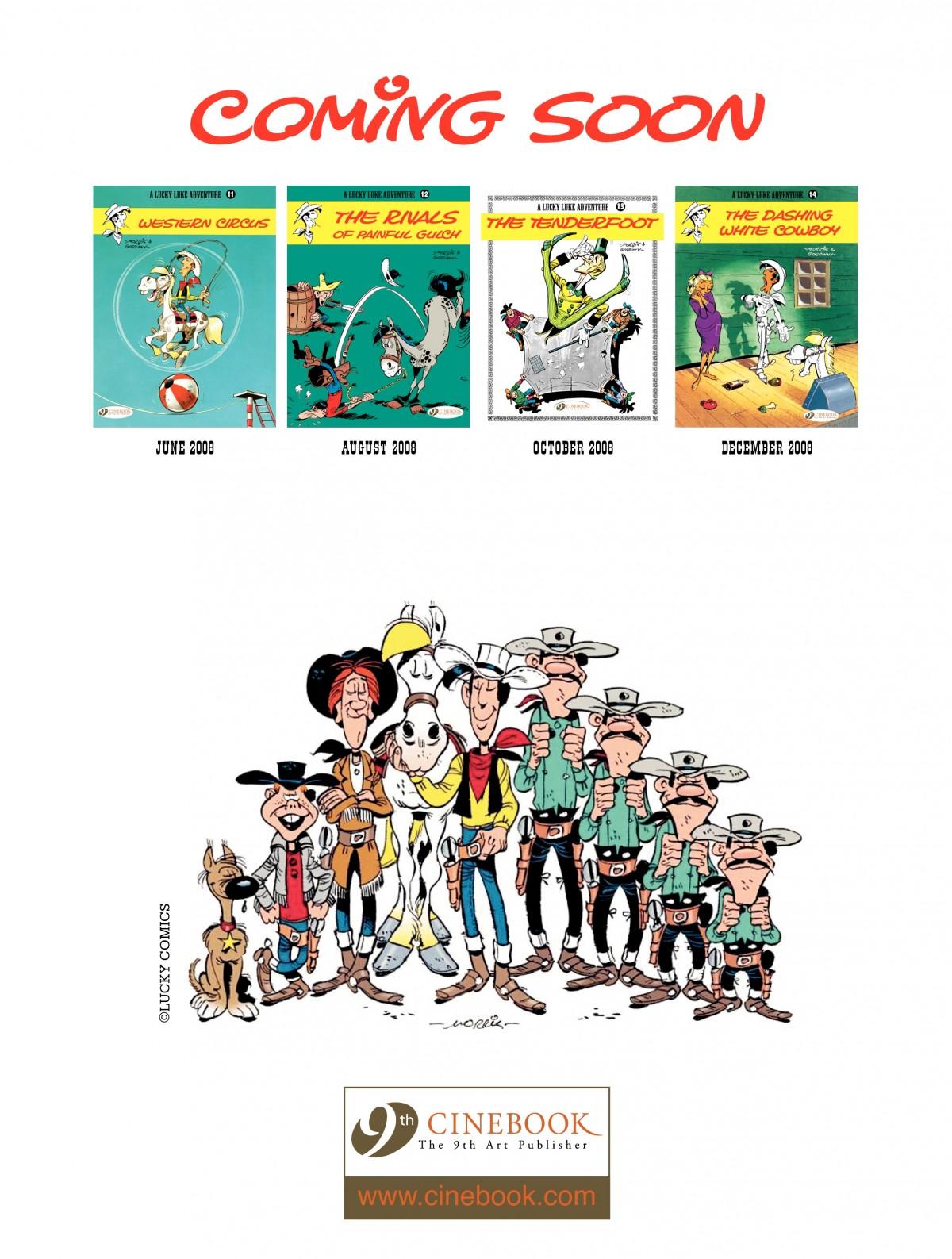 Read online A Lucky Luke Adventure comic -  Issue #4 - 50