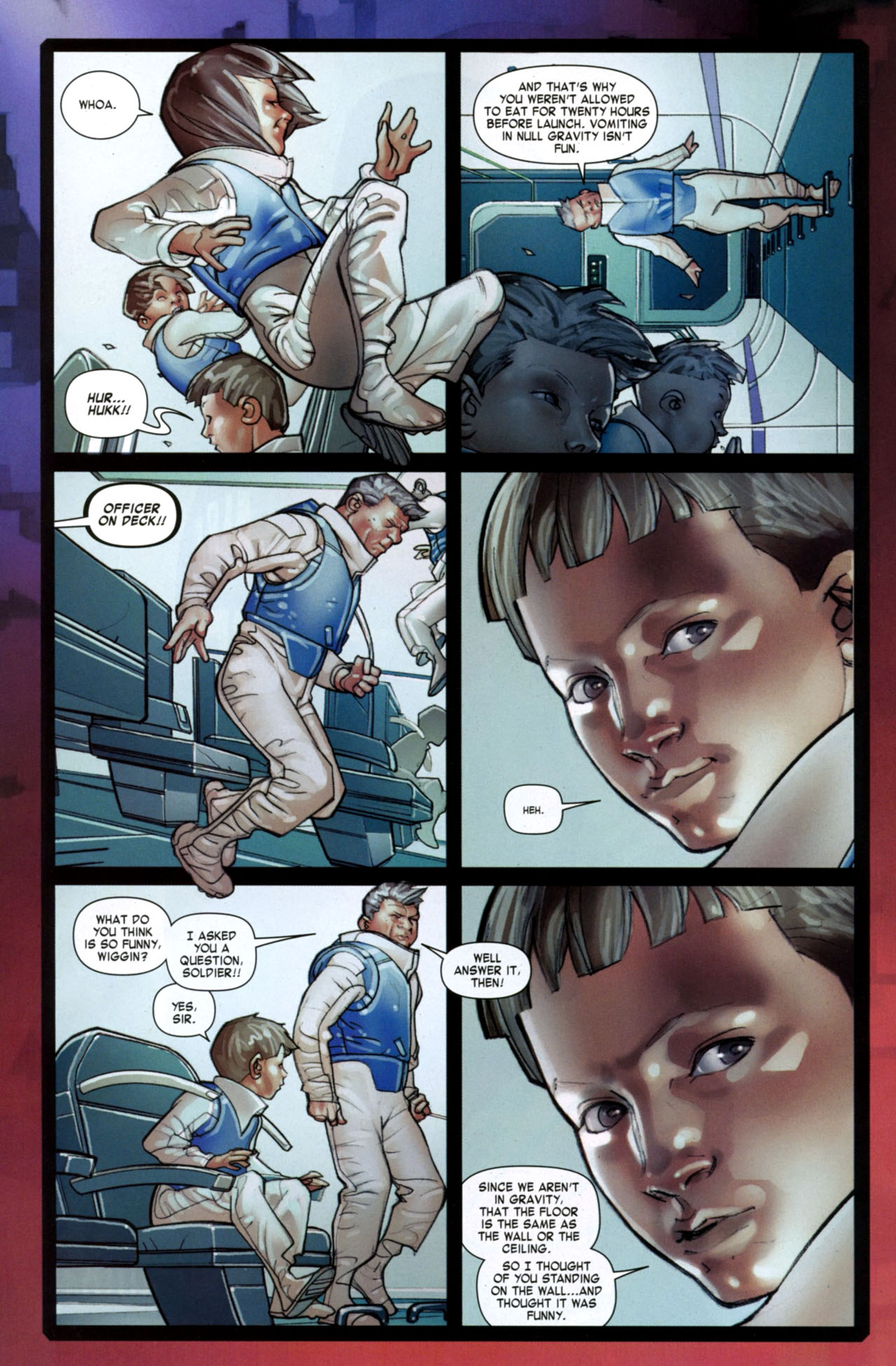Read online Ender's Game: Battle School comic -  Issue #2 - 7