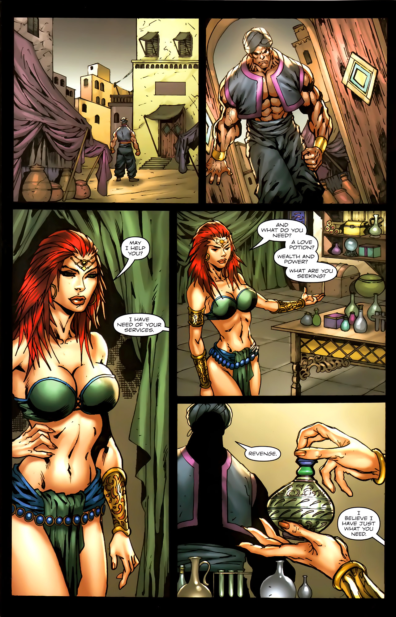 Read online 1001 Arabian Nights: The Adventures of Sinbad comic -  Issue #7 - 18