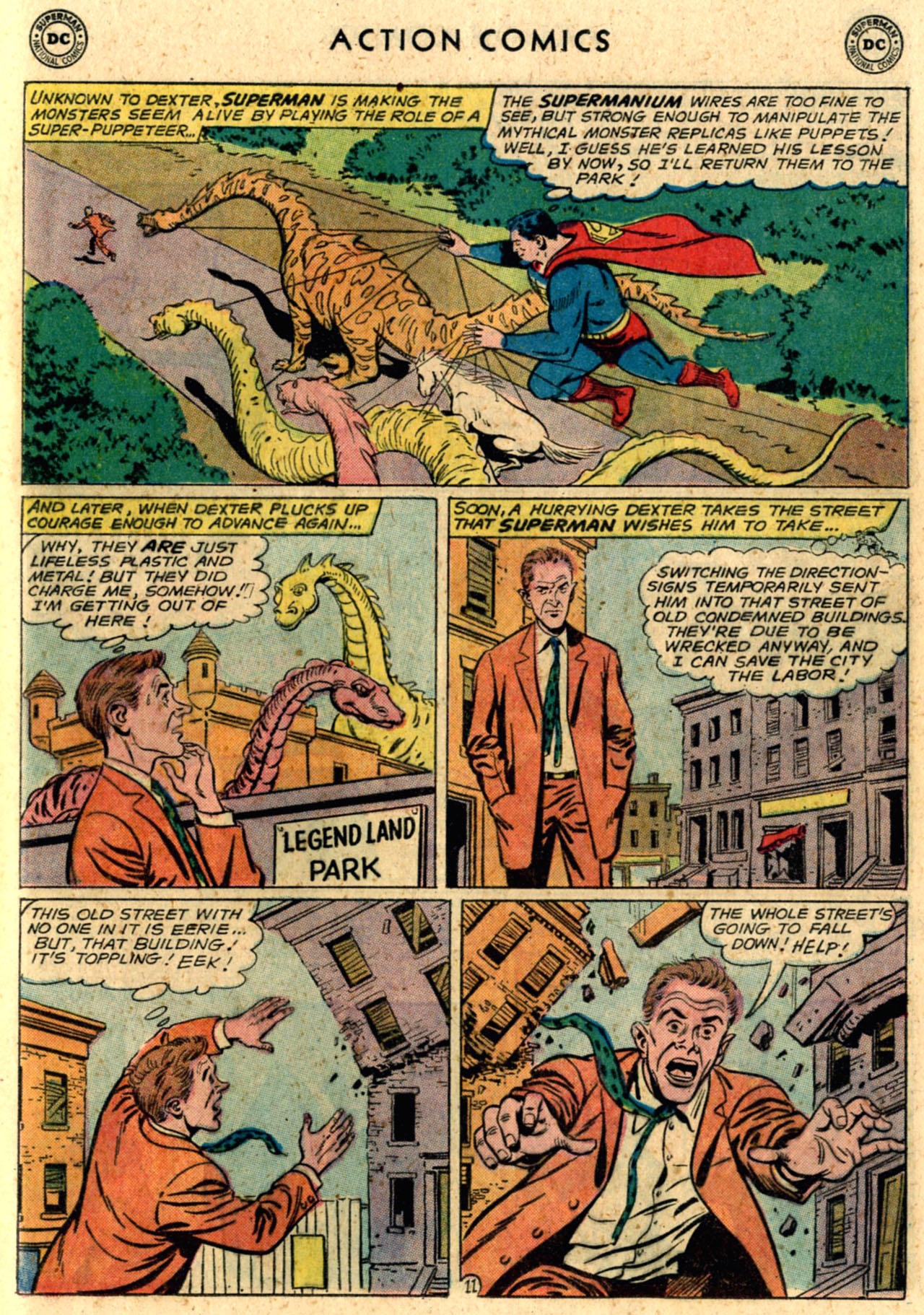 Read online Action Comics (1938) comic -  Issue #289 - 13