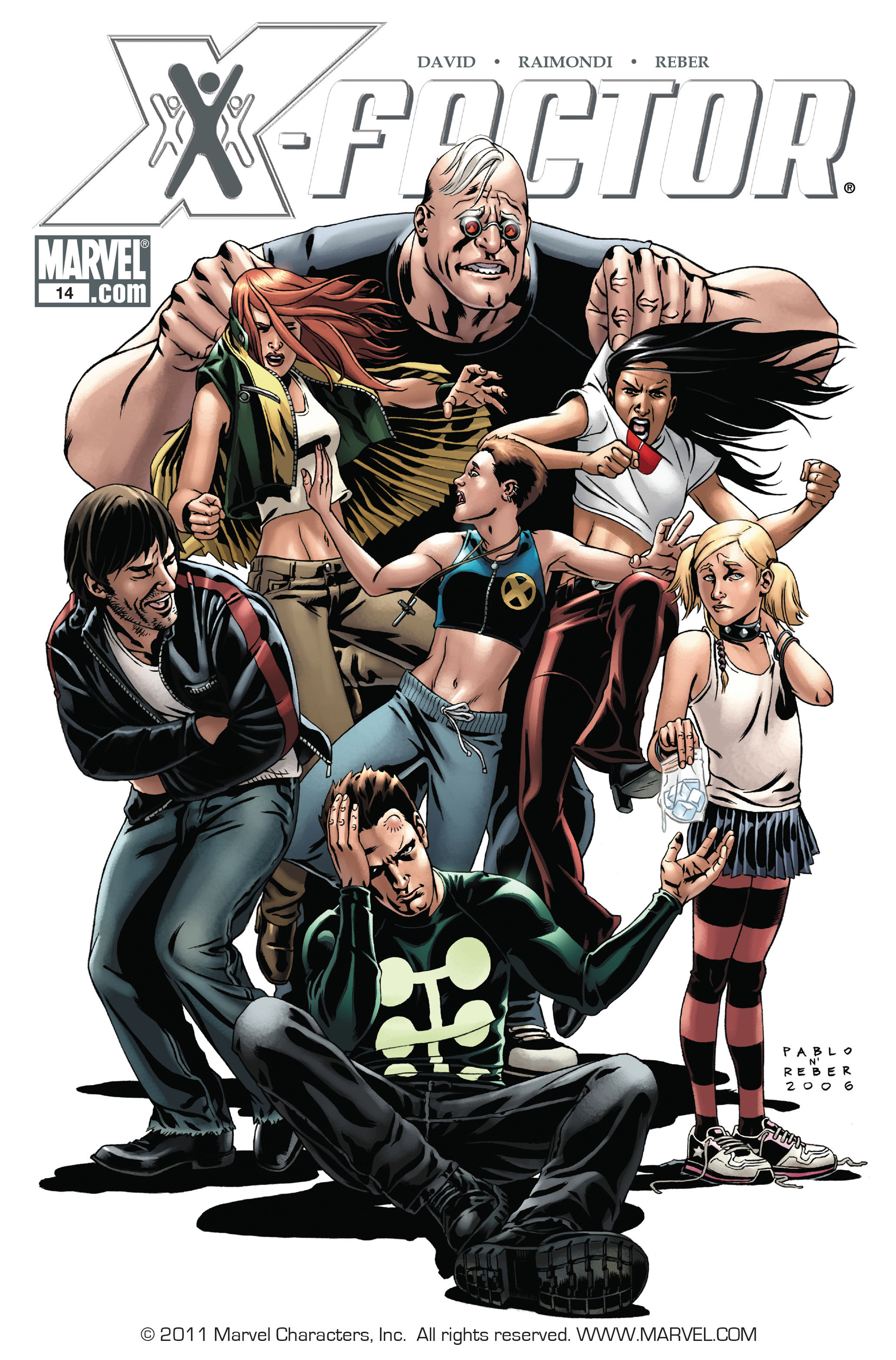 Read online X-Factor (2006) comic -  Issue #14 - 1
