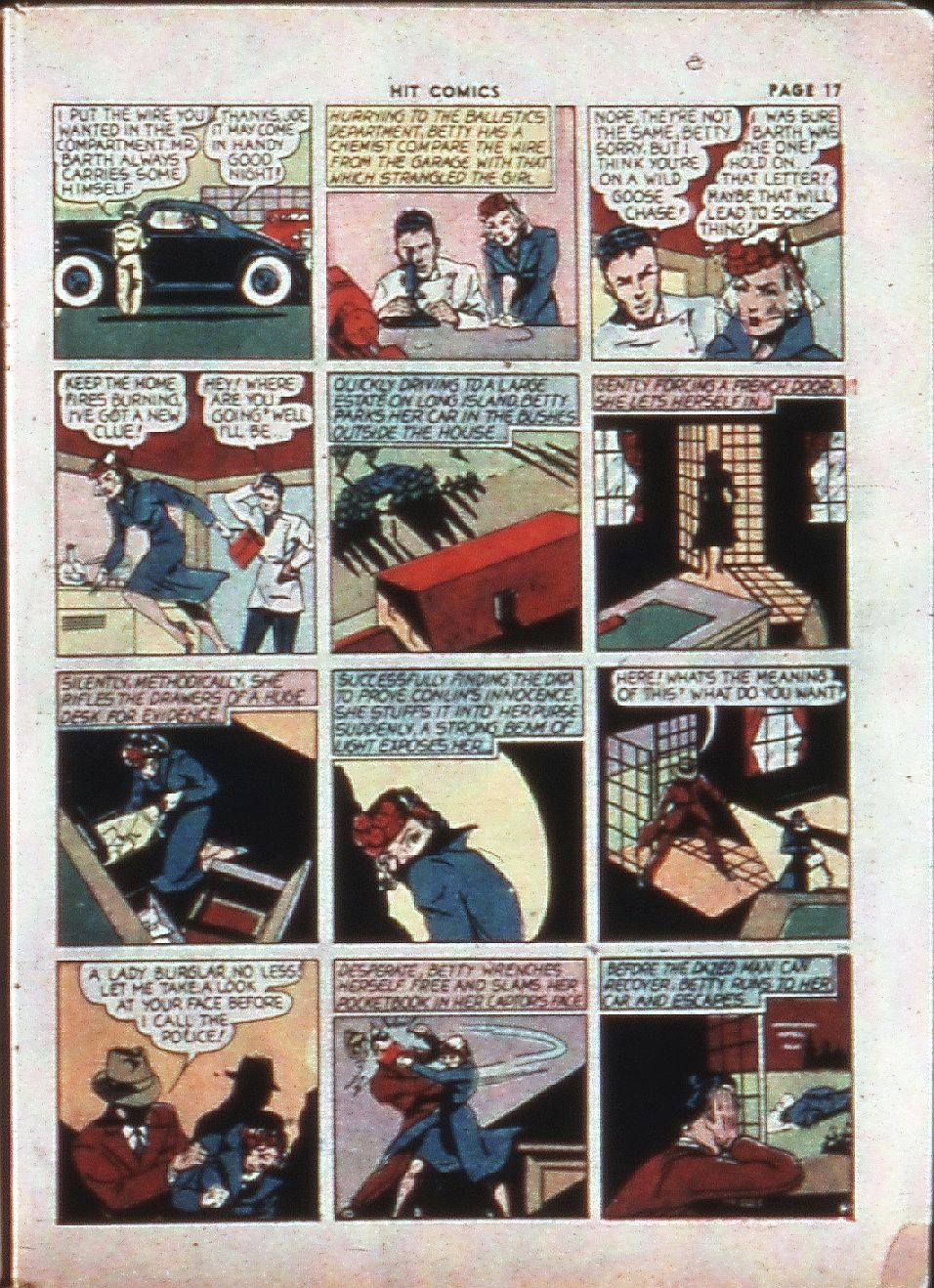 Read online Hit Comics comic -  Issue #4 - 19