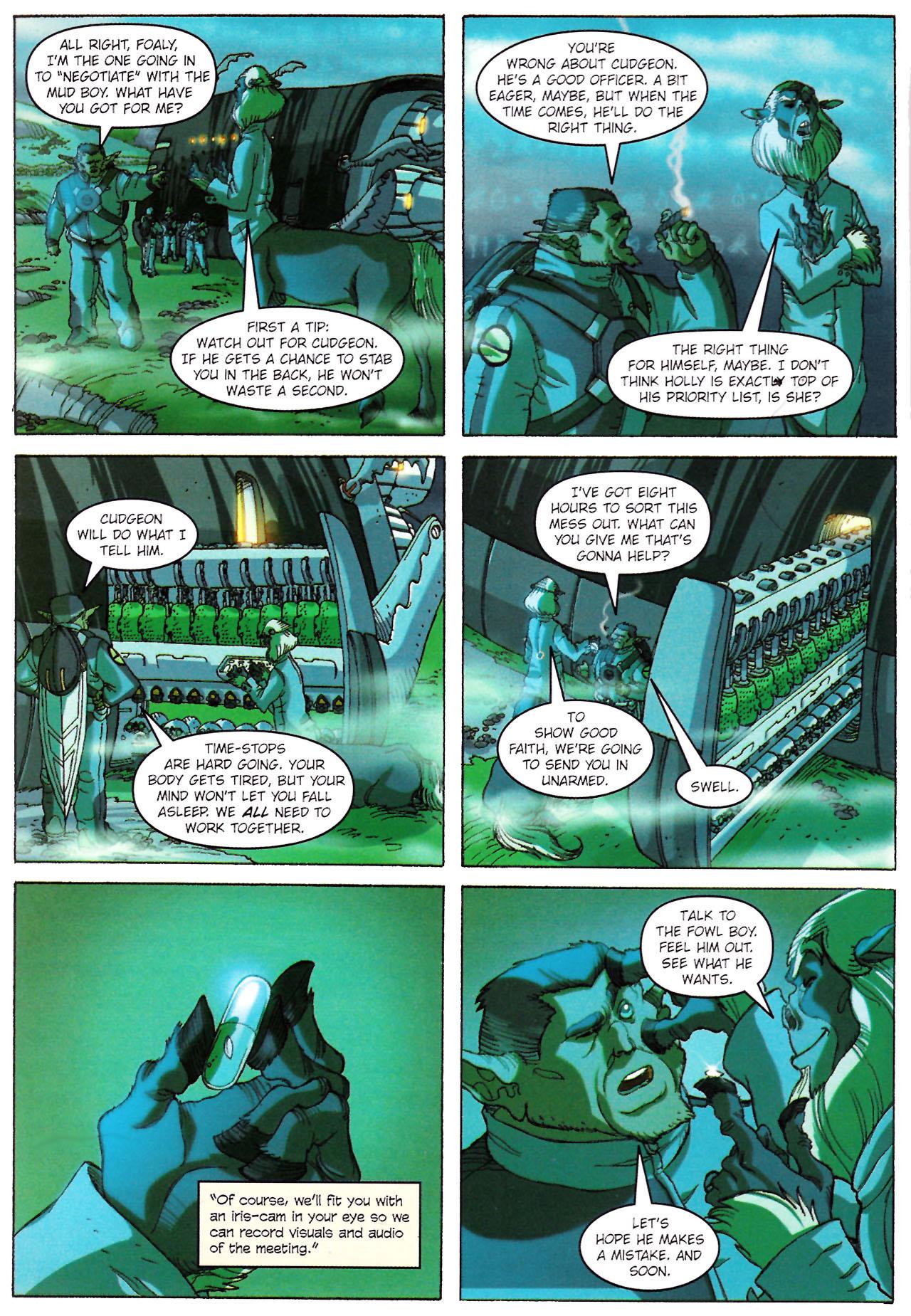 Read online Artemis Fowl: The Graphic Novel comic -  Issue #Artemis Fowl: The Graphic Novel Full - 63