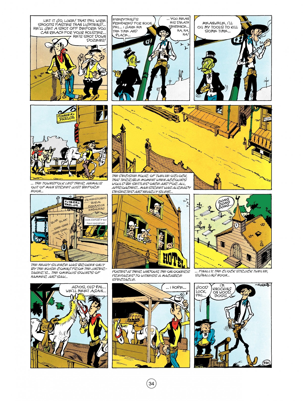 Read online A Lucky Luke Adventure comic -  Issue #40 - 34