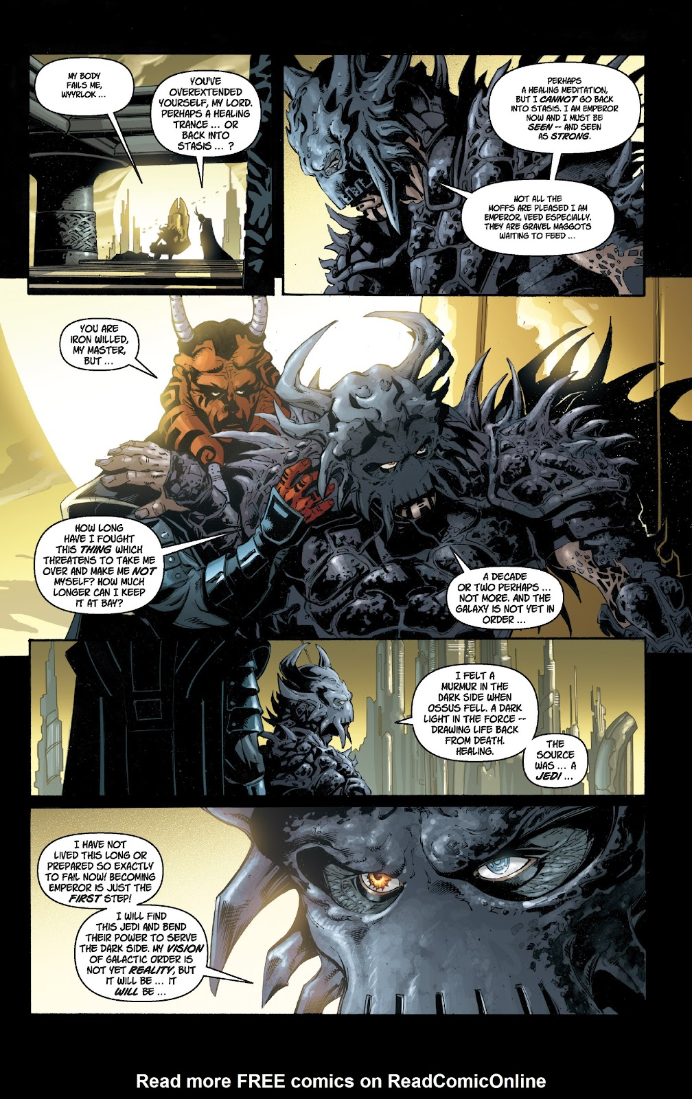 Read online Star Wars Legends: Legacy - Epic Collection comic -  Issue # TPB 1 (Part 1) - 27