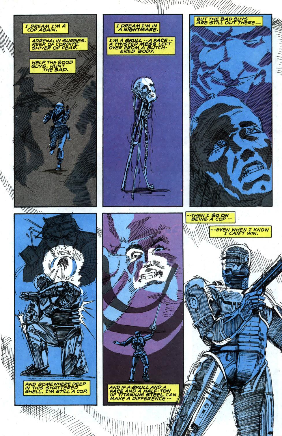 Read online Robocop (1990) comic -  Issue #4 - 11