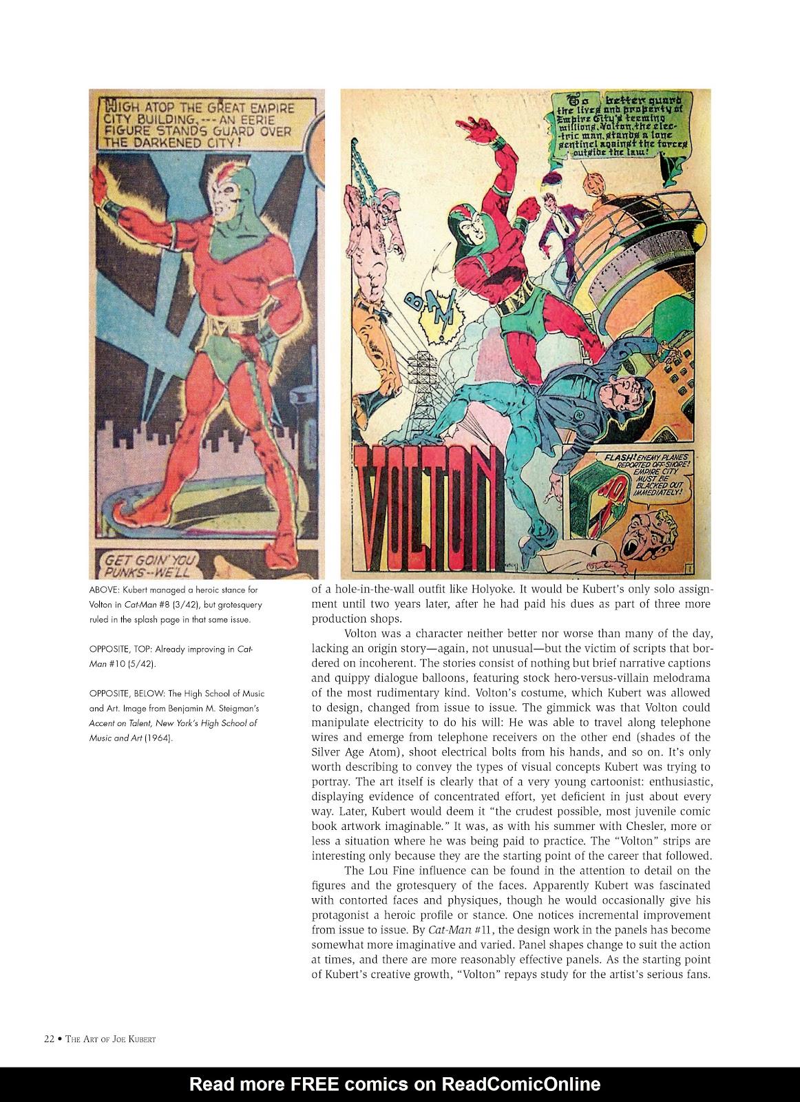 Read online The Art of Joe Kubert comic -  Issue # TPB (Part 1) - 21