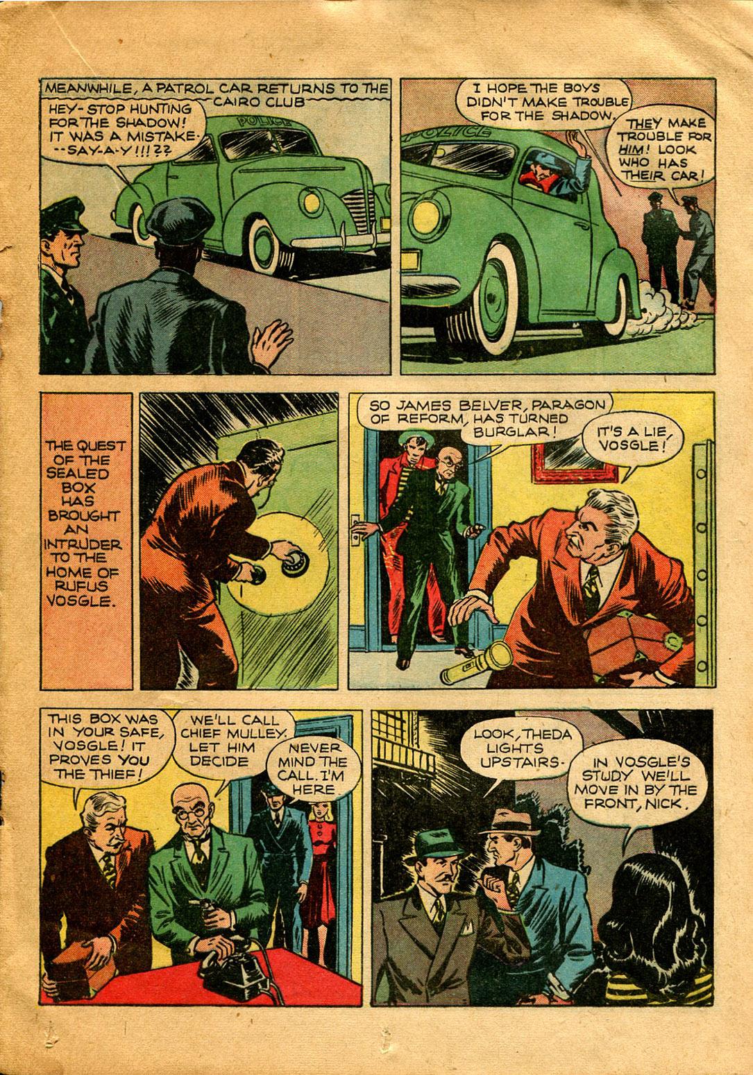 Read online Shadow Comics comic -  Issue #9 - 33