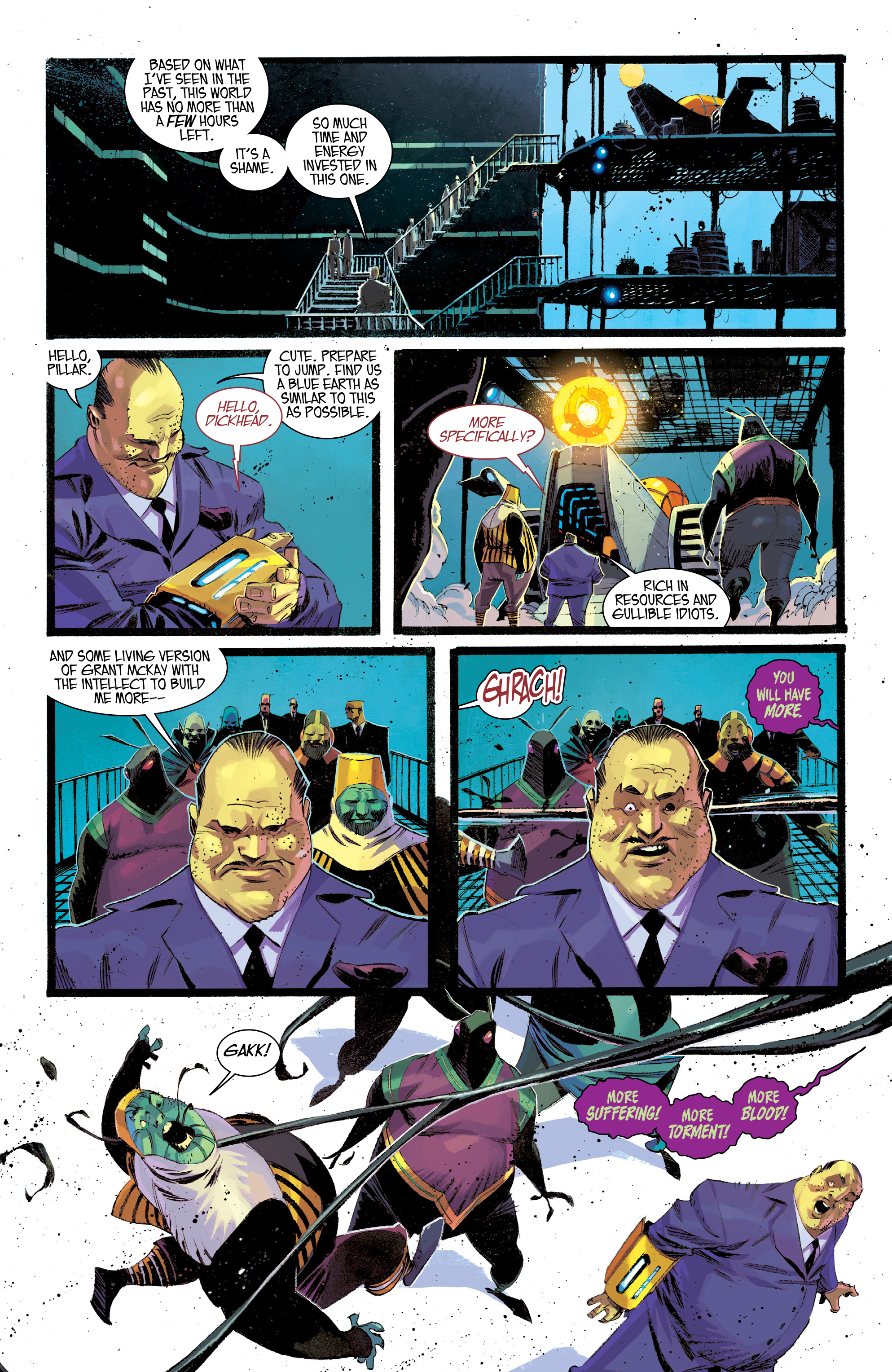 Read online Black Science comic -  Issue #30 - 17