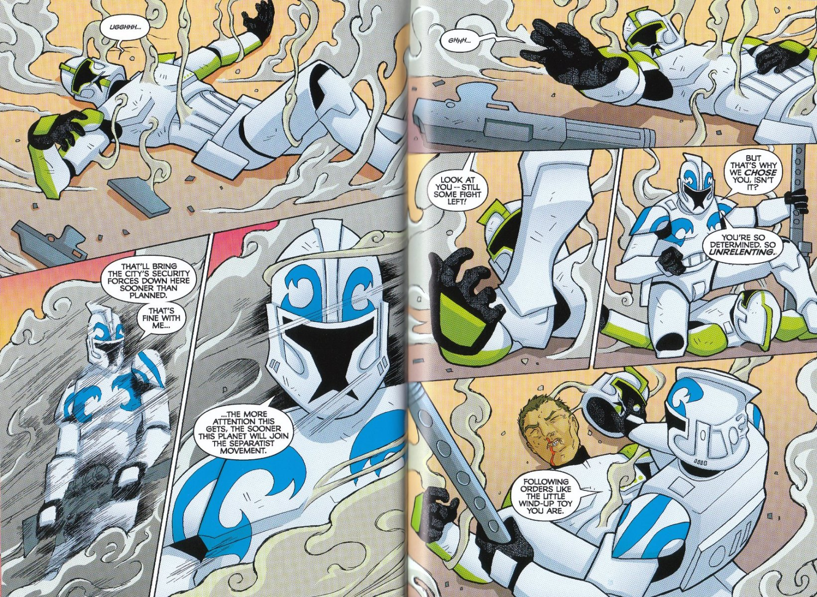 Read online Star Wars: The Clone Wars - The Enemy Within comic -  Issue # Full - 31