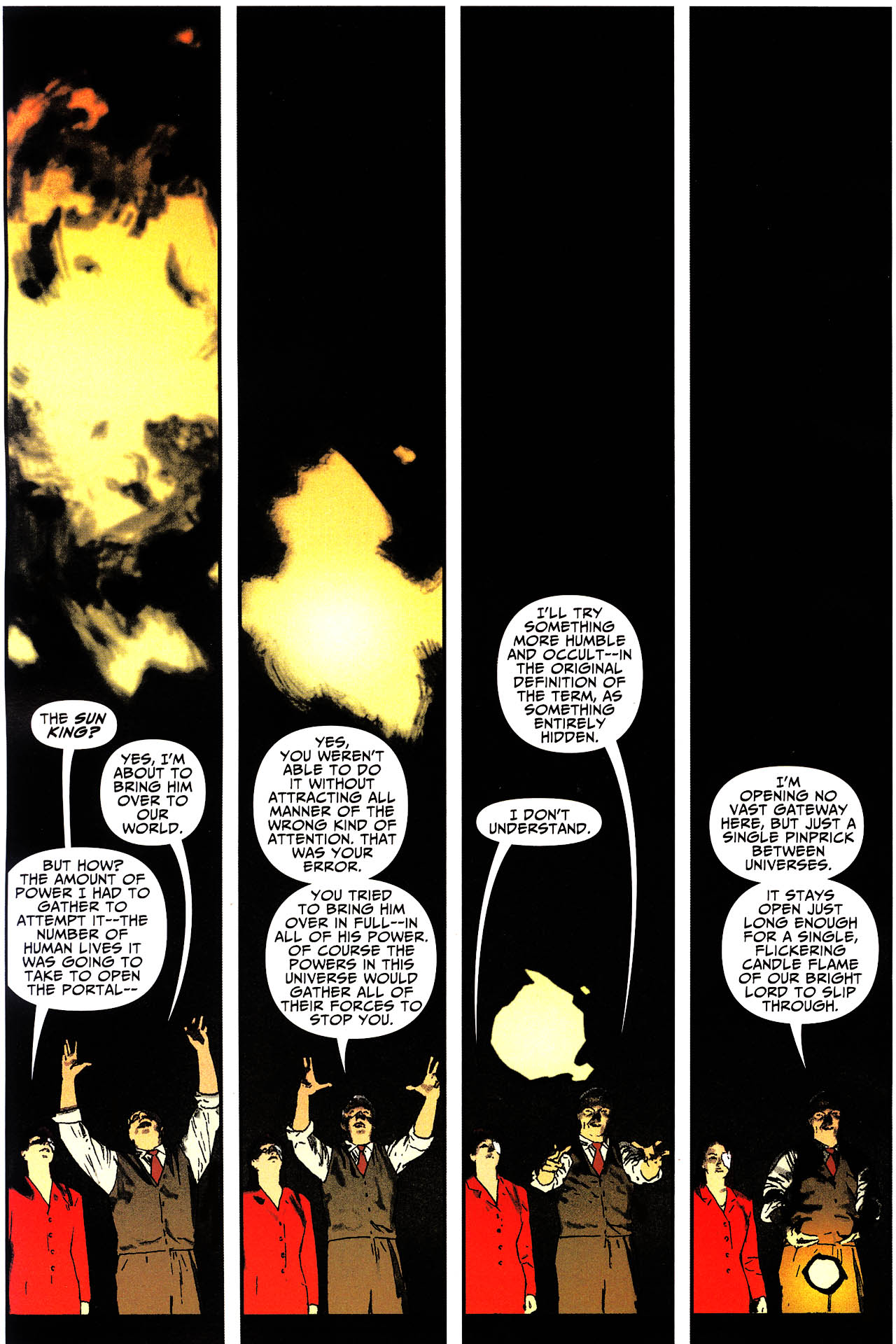 Read online Shadowpact comic -  Issue #13 - 12