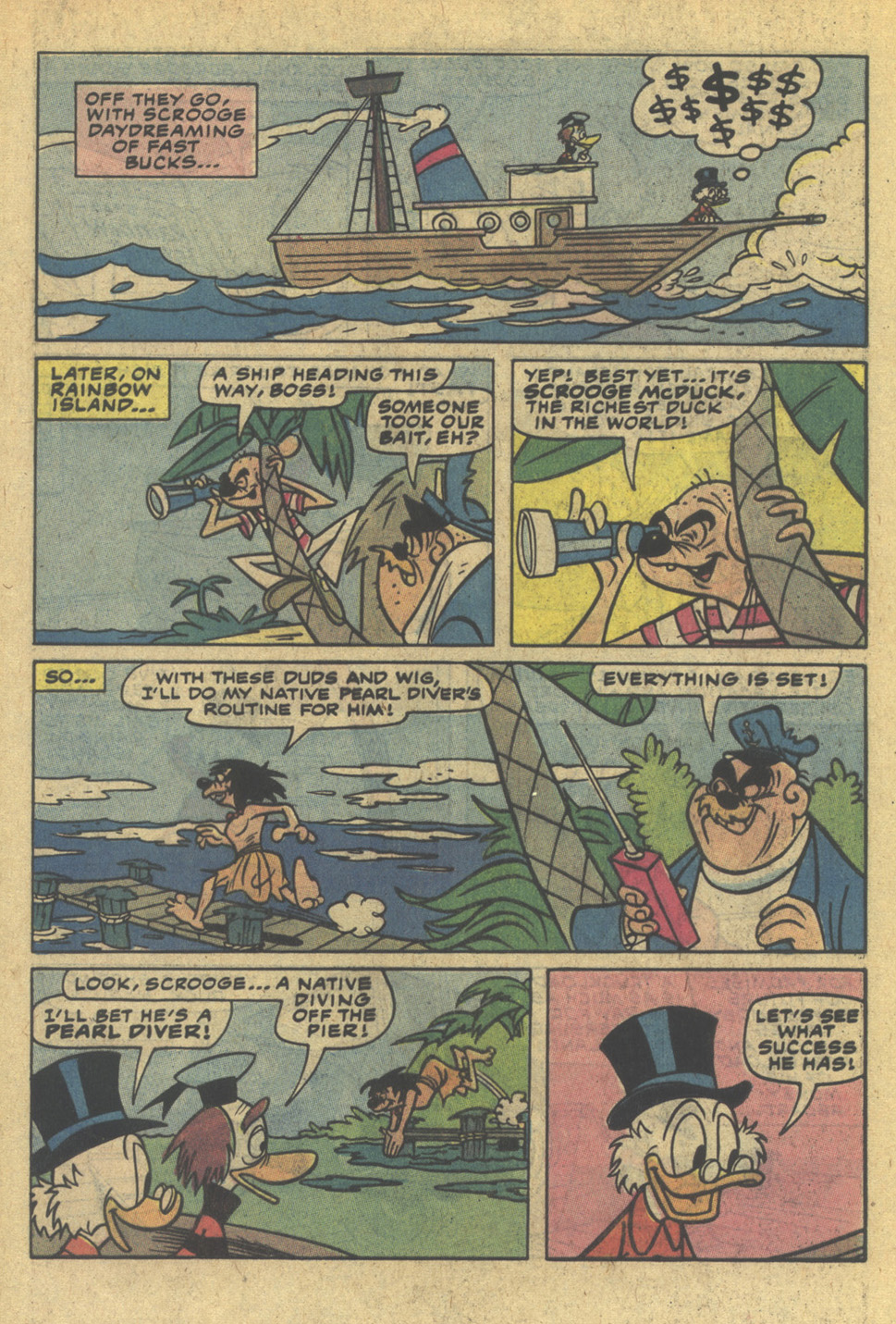 Read online Uncle Scrooge (1953) comic -  Issue #200 - 16