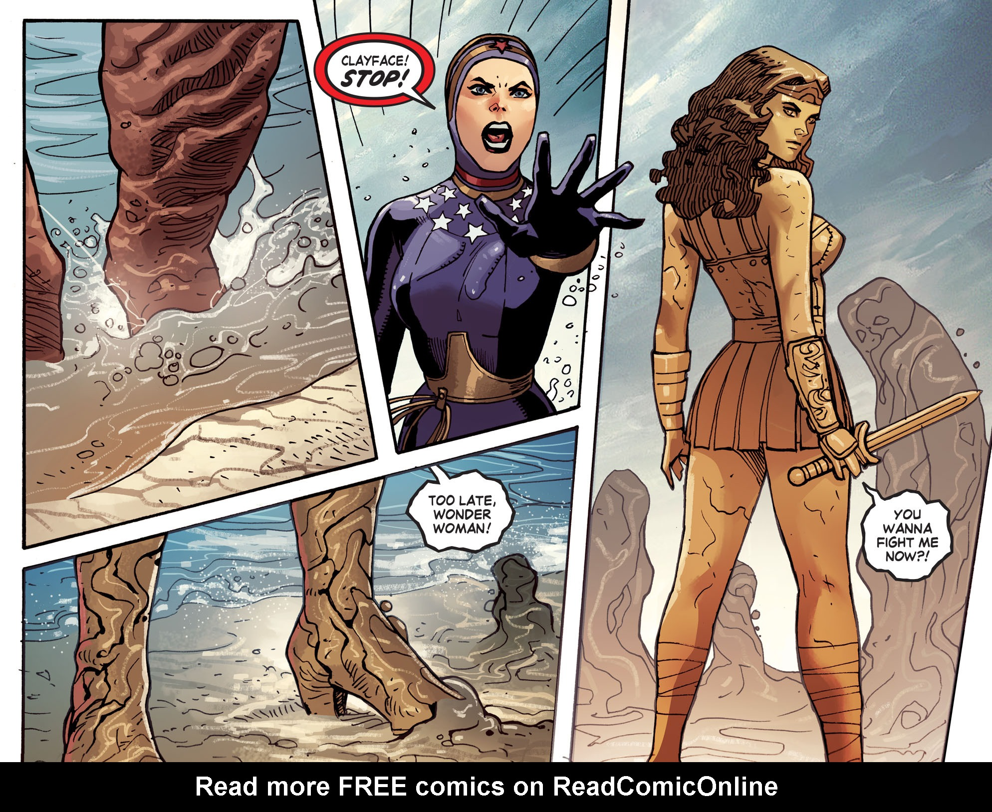 Read online Wonder Woman '77 [I] comic -  Issue #14 - 21