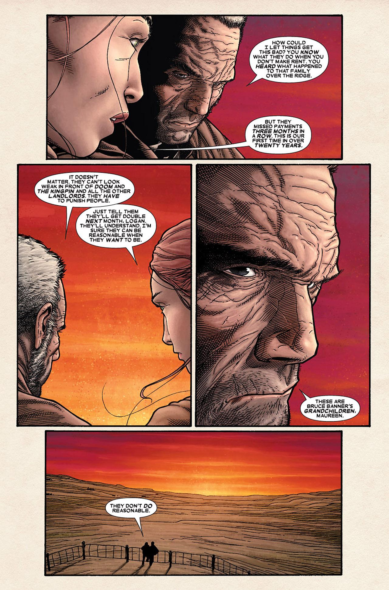 Read online Wolverine: Old Man Logan comic -  Issue # Full - 10