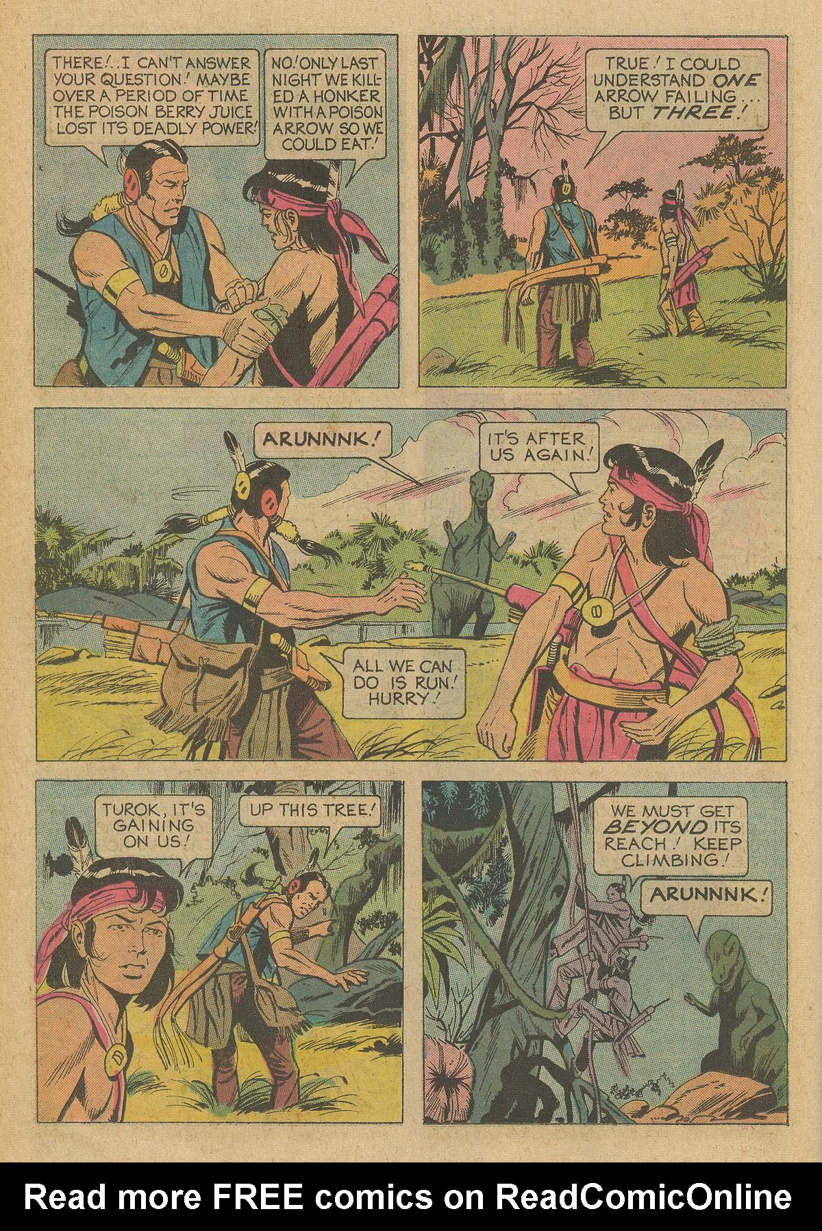 Read online Turok, Son of Stone comic -  Issue #95 - 26