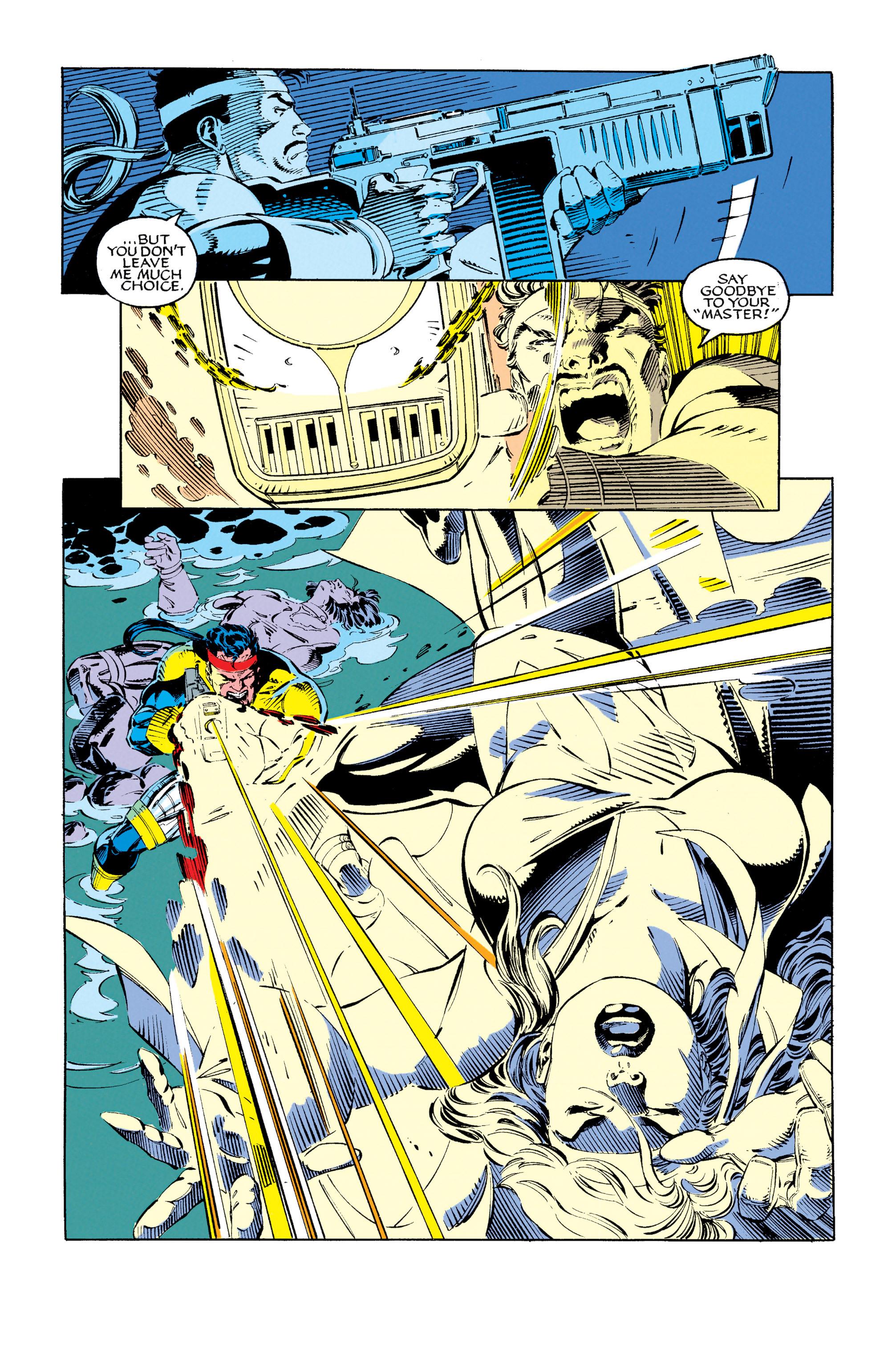 Read online Uncanny X-Men (1963) comic -  Issue #279 - 20
