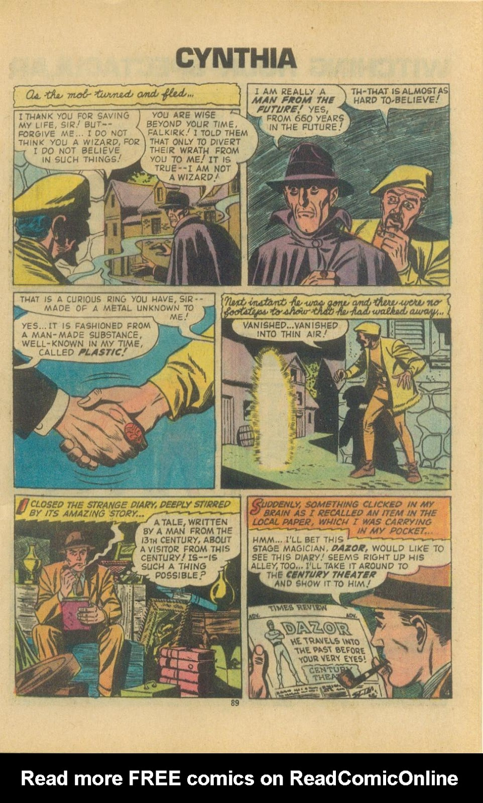 The Witching Hour (1969) issue 38 - Page 91