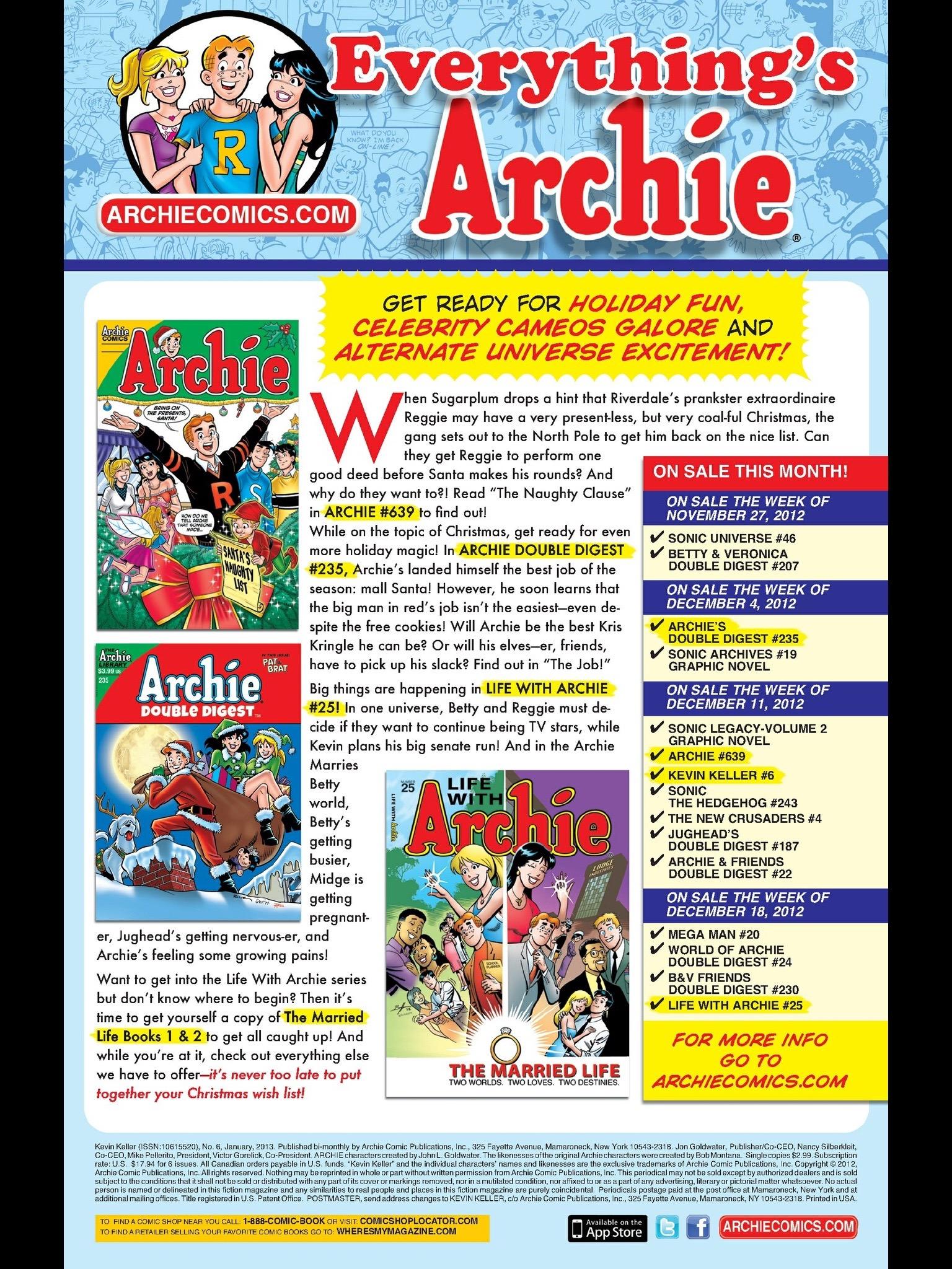 Read online Kevin Keller comic -  Issue #6 - 24