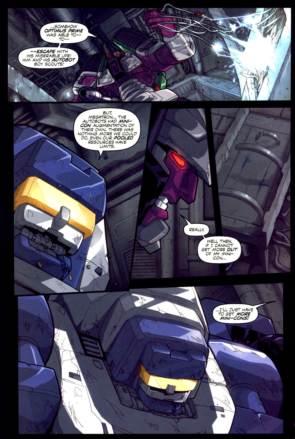 Read online Transformers Armada comic -  Issue #6 - 7