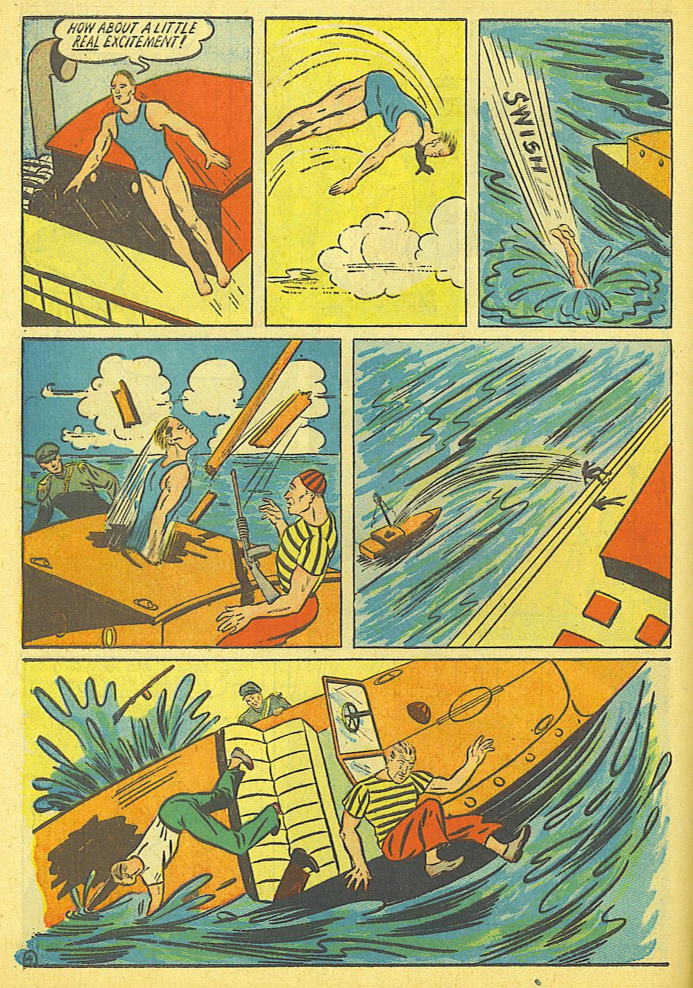 Read online Amazing Man Comics comic -  Issue #19 - 18