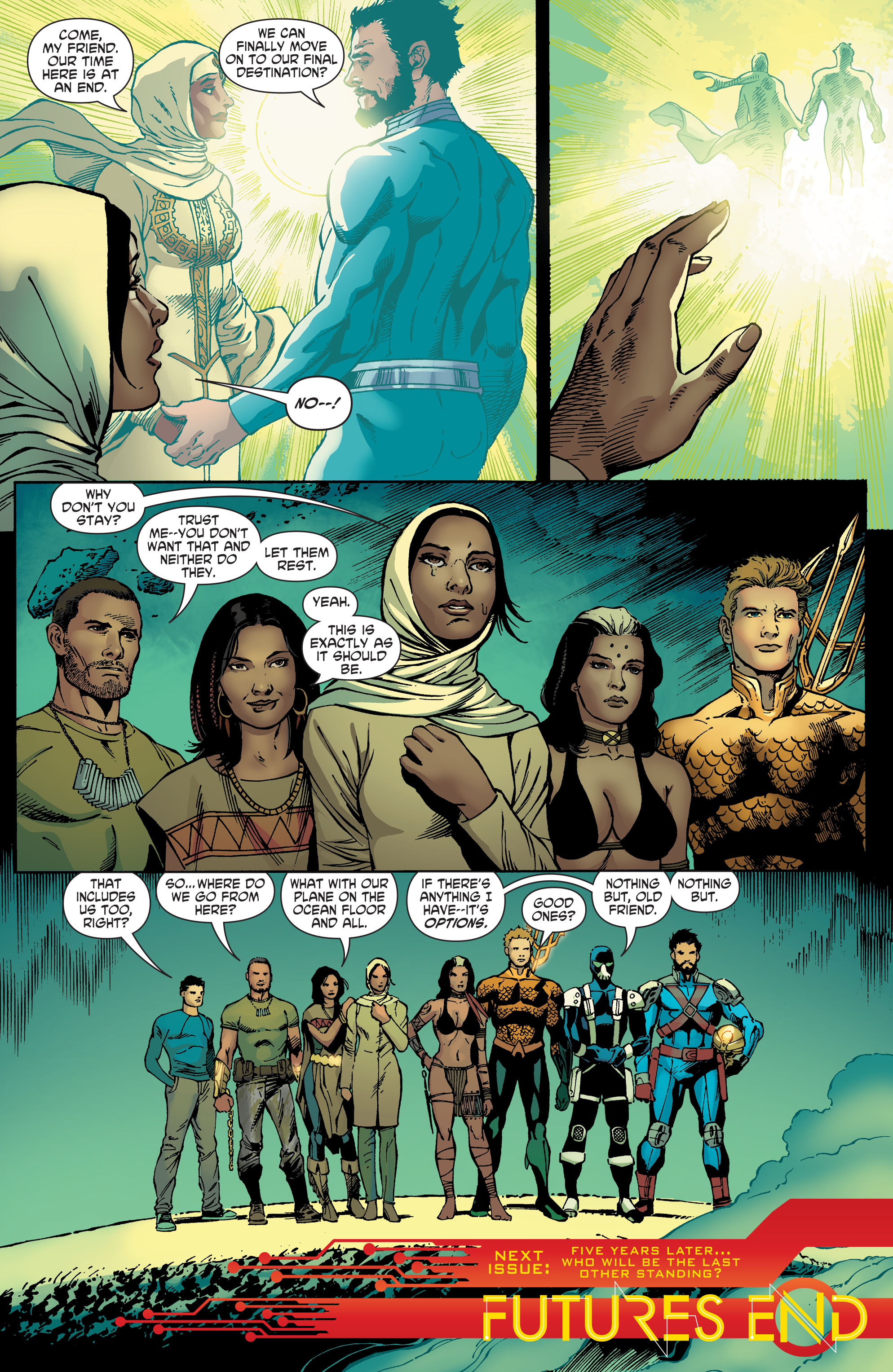 Read online Aquaman and the Others comic -  Issue #5 - 20