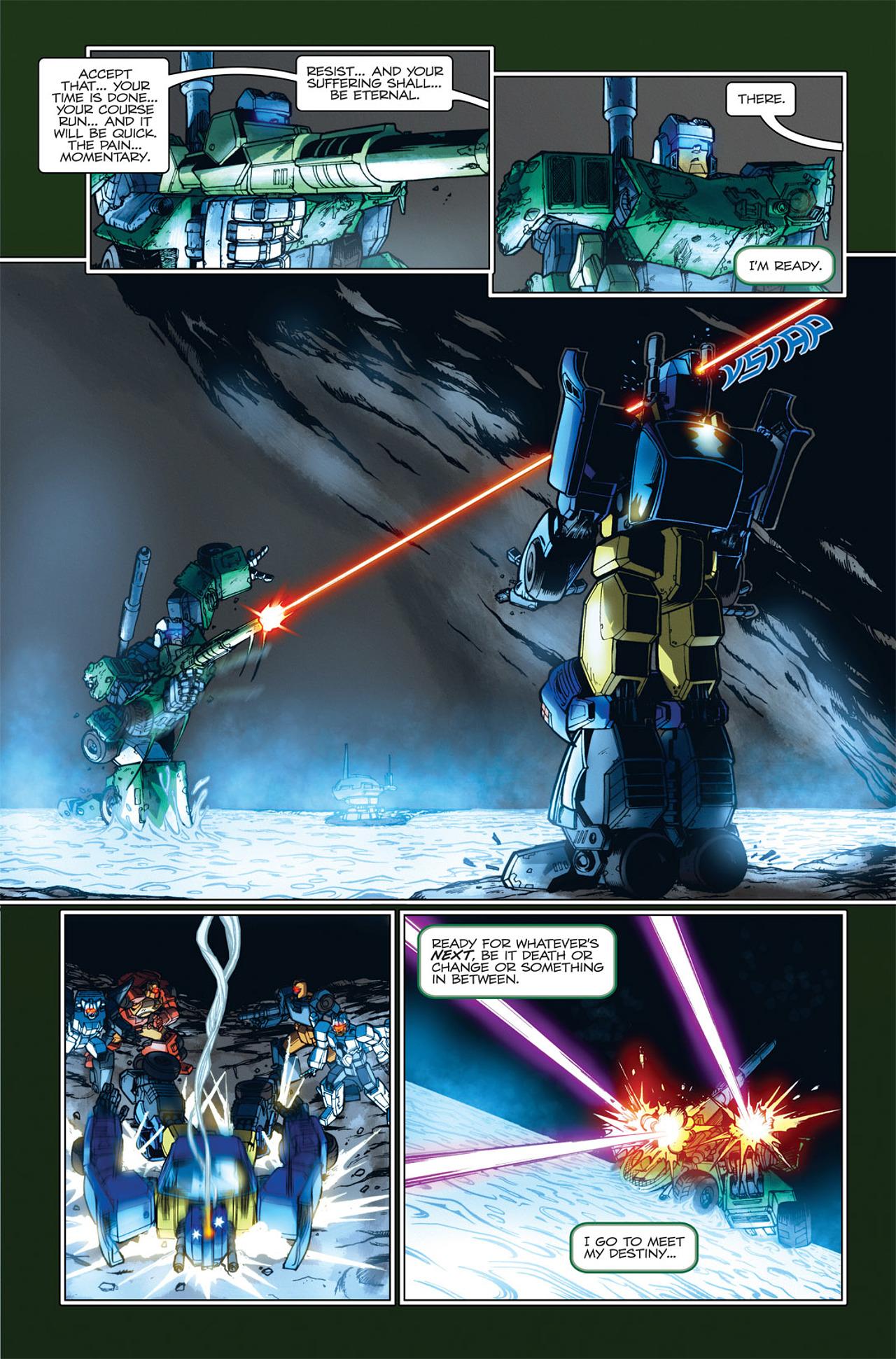 Read online Transformers Spotlight: Hardhead comic -  Issue # Full - 23