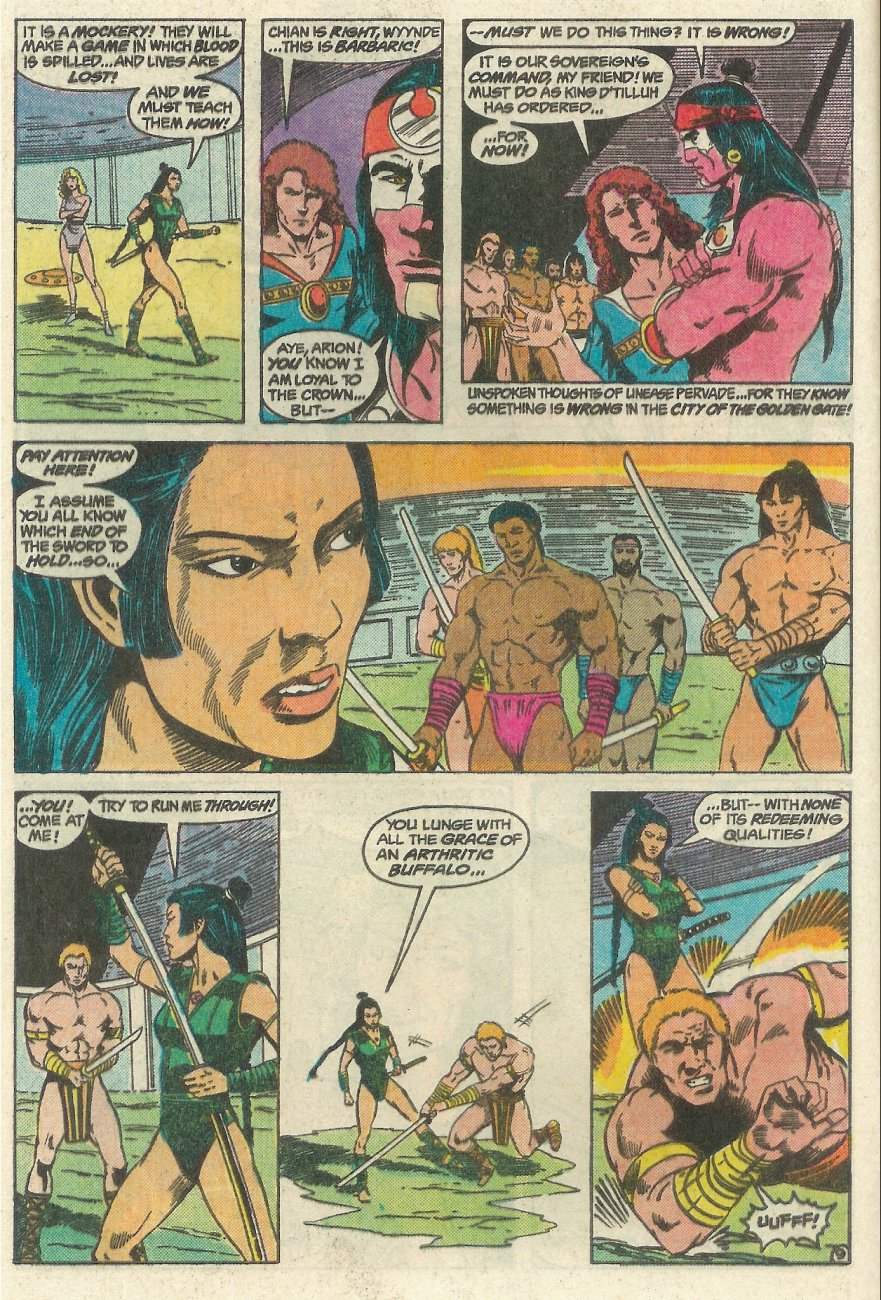 Read online Arion, Lord of Atlantis comic -  Issue #23 - 10