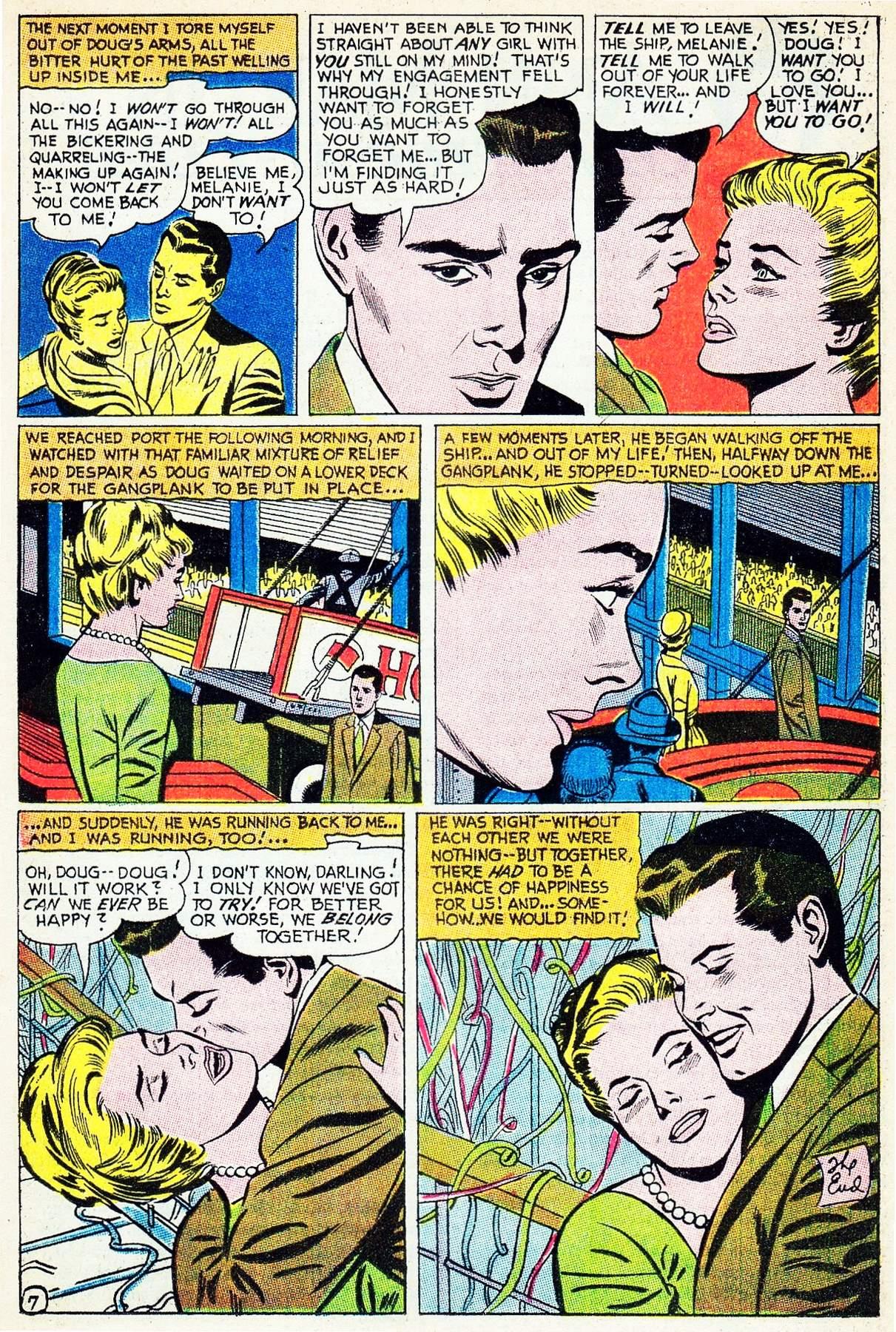 Read online Secret Hearts comic -  Issue #133 - 13