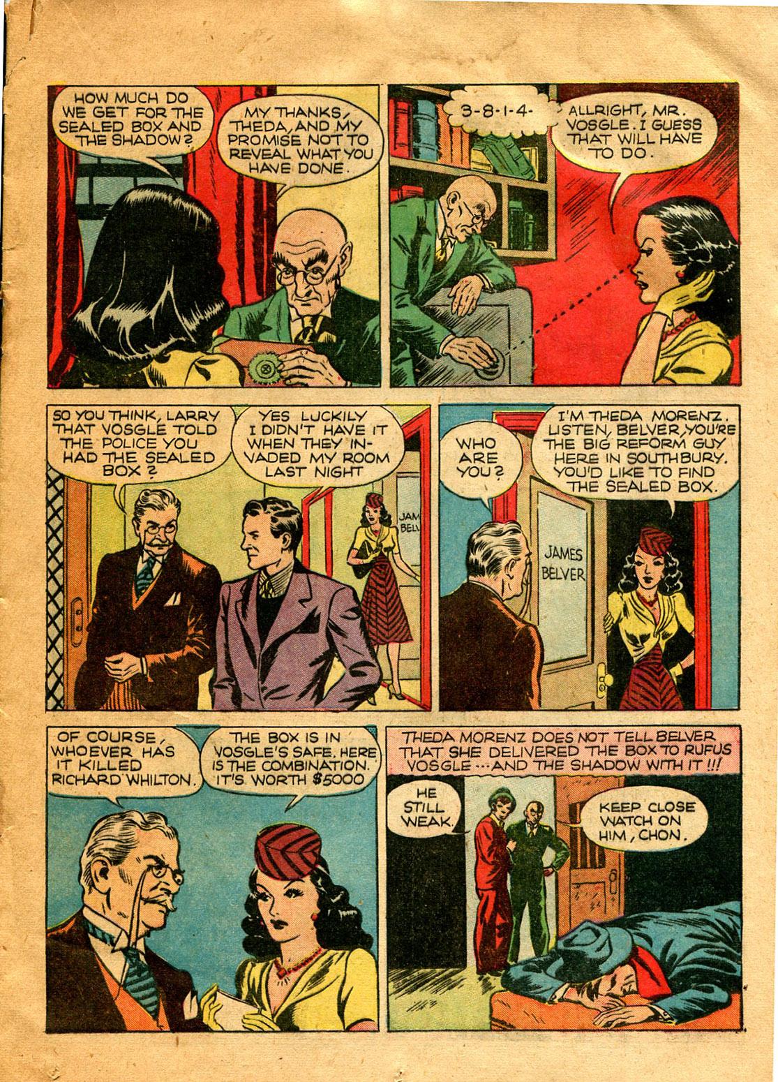 Read online Shadow Comics comic -  Issue #9 - 25