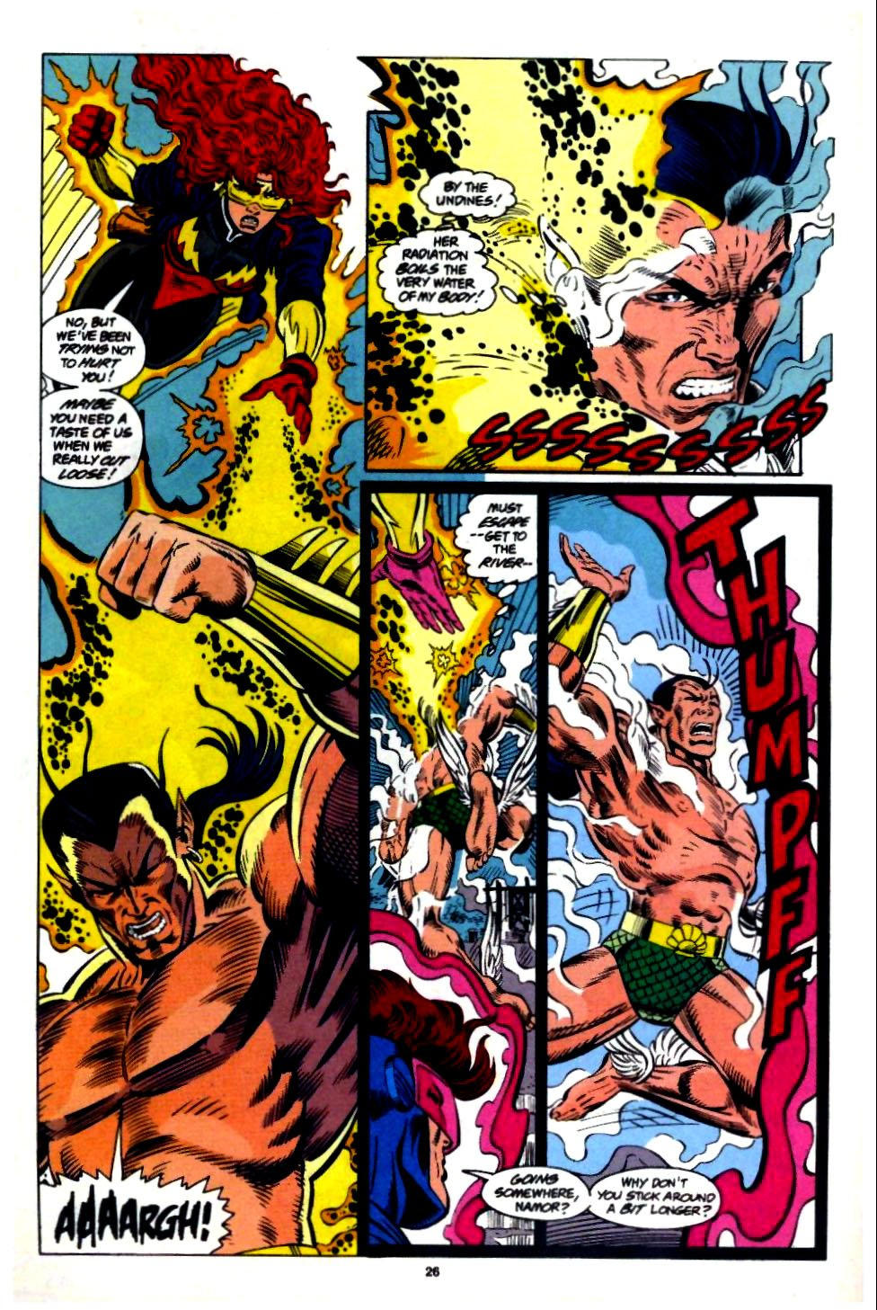 The New Warriors Issue #57 #61 - English 20